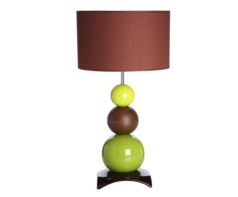 Настольная лампаДекоративные лампы<br>Сочные цвета, лаконичные формы (шары и цилиндр) создают неповторимый стиль, который способен поднять настроение и вдохновить на новые идеи.<br><br>Португальская компания Farol (в переводе означает «маяк») изготавливает из керамики уникальные вазы и светильники, отличающиеся смелым дизайном и неповторимыми формами.&amp;lt;div&amp;gt;&amp;lt;br&amp;gt;&amp;lt;/div&amp;gt;&amp;lt;div&amp;gt;&amp;lt;div&amp;gt;Вид цоколя: E27&amp;lt;/div&amp;gt;&amp;lt;div&amp;gt;Мощность: 60W&amp;lt;/div&amp;gt;&amp;lt;div&amp;gt;Количество ламп: 1&amp;lt;/div&amp;gt;&amp;lt;/div&amp;gt;<br><br>Material: Керамика<br>Height см: 65<br>Diameter см: 35