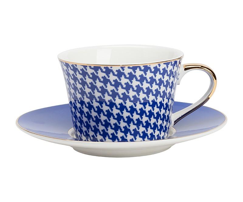 Чайная пара FechoЧайные пары и чашки<br>Размеры: диаметр чашки 9 см, диаметр дна 6,8 см, высота 6,3 см, диаметр блюдца 15,3 см.<br><br>Material: Фарфор<br>Height см: 6,3<br>Diameter см: 9