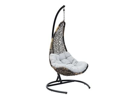 Кресло подвесное wind (flyingrattan) черный 81x133x79 см.