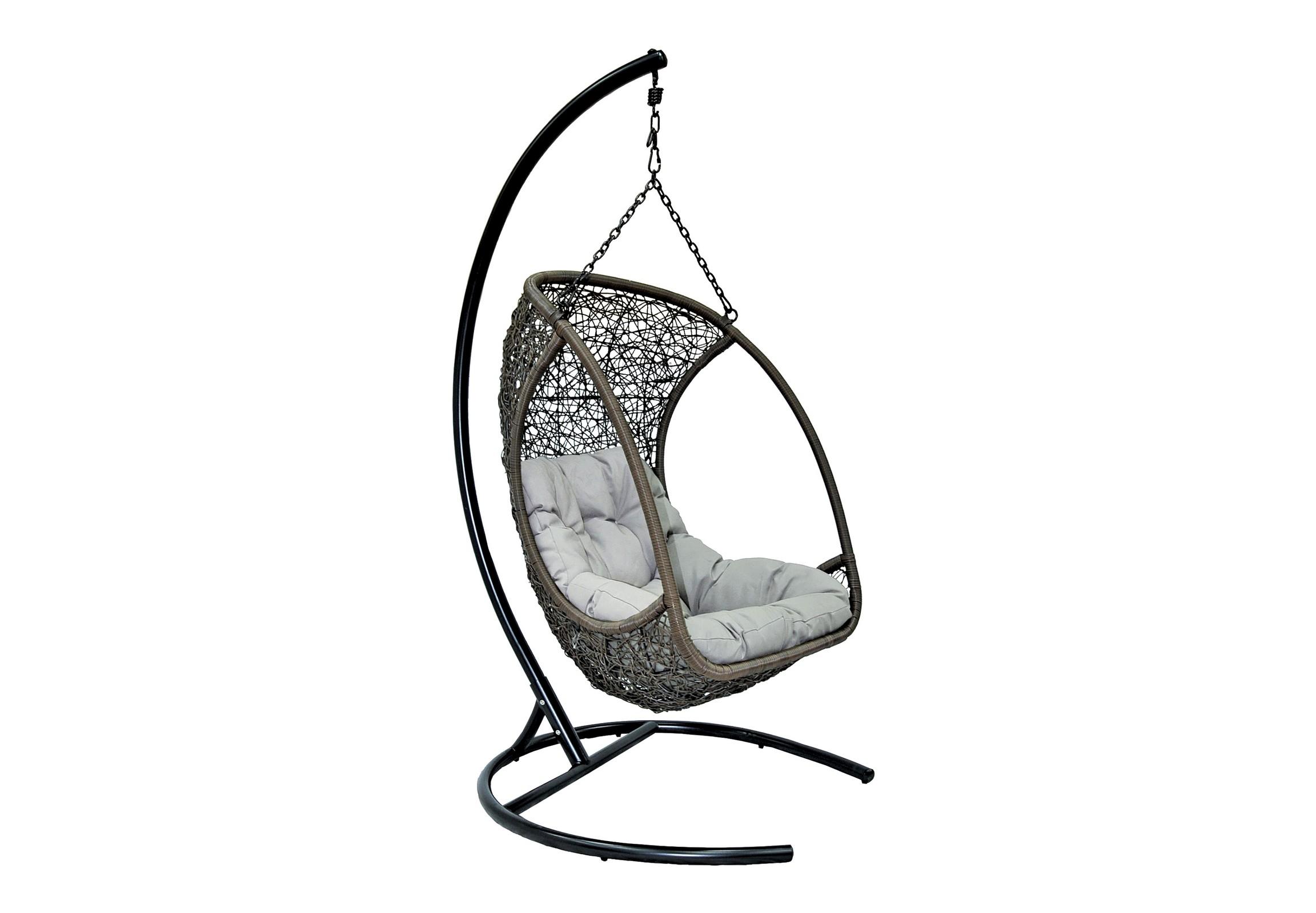 Кресло подвесное AlbatrosПодвесные кресла<br>Подвесное кресло Albatros - новинка этого сезона! Оригинальный дизайн, практичность и комфорт - все это сочетает в себе данная модель.<br>Подвесные кресла выполнены из искусственного ротанга высокого качества. Искусственный ротанг круглой формы, что делает его очень похожим на натуральный ротанговый прут. Каркас опоры и самого кресла покрыт прочной, устойчивой к внешним воздействиям, порошковой краской. А мягкие подушки выполнены из водоотталкивающего материала.<br>Основа кресла выполнена из стали, благодаря чему подвесное кресло может выдерживать вес до 120 кг. Когда Вы сидите в кресле, общая нагрузка приходится не на ажурное плетение, а именно на металлический каркас.&amp;amp;nbsp;&amp;lt;div&amp;gt;&amp;lt;br&amp;gt;&amp;lt;/div&amp;gt;&amp;lt;div&amp;gt;Каркас – сталь, <br>порошковая покраска&amp;amp;nbsp;&amp;lt;/div&amp;gt;&amp;lt;div&amp;gt;Плетение – PE-ротанг (искусственный ротанг) высокого качества (круглый)&amp;amp;nbsp;&amp;lt;/div&amp;gt;&amp;lt;div&amp;gt;Размер чаши: <br>80х66х123 см&amp;amp;nbsp;&amp;lt;/div&amp;gt;&amp;lt;div&amp;gt;Размер основания: <br>100х100х195 см&amp;lt;/div&amp;gt;<br><br>Material: Искусственный ротанг