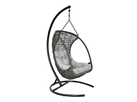 Кресло подвесное albatros (flyingrattan) коричневый
