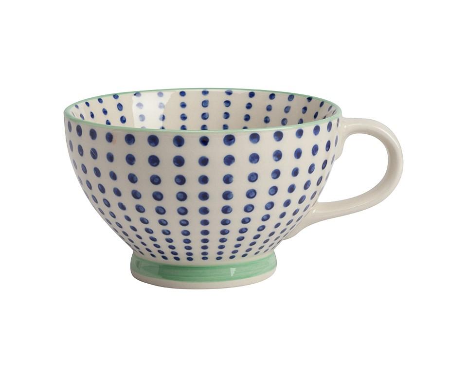 Чашка CanvasЧайные пары, чашки и кружки<br><br><br>Material: Керамика<br>Height см: 7,5<br>Diameter см: 12,5