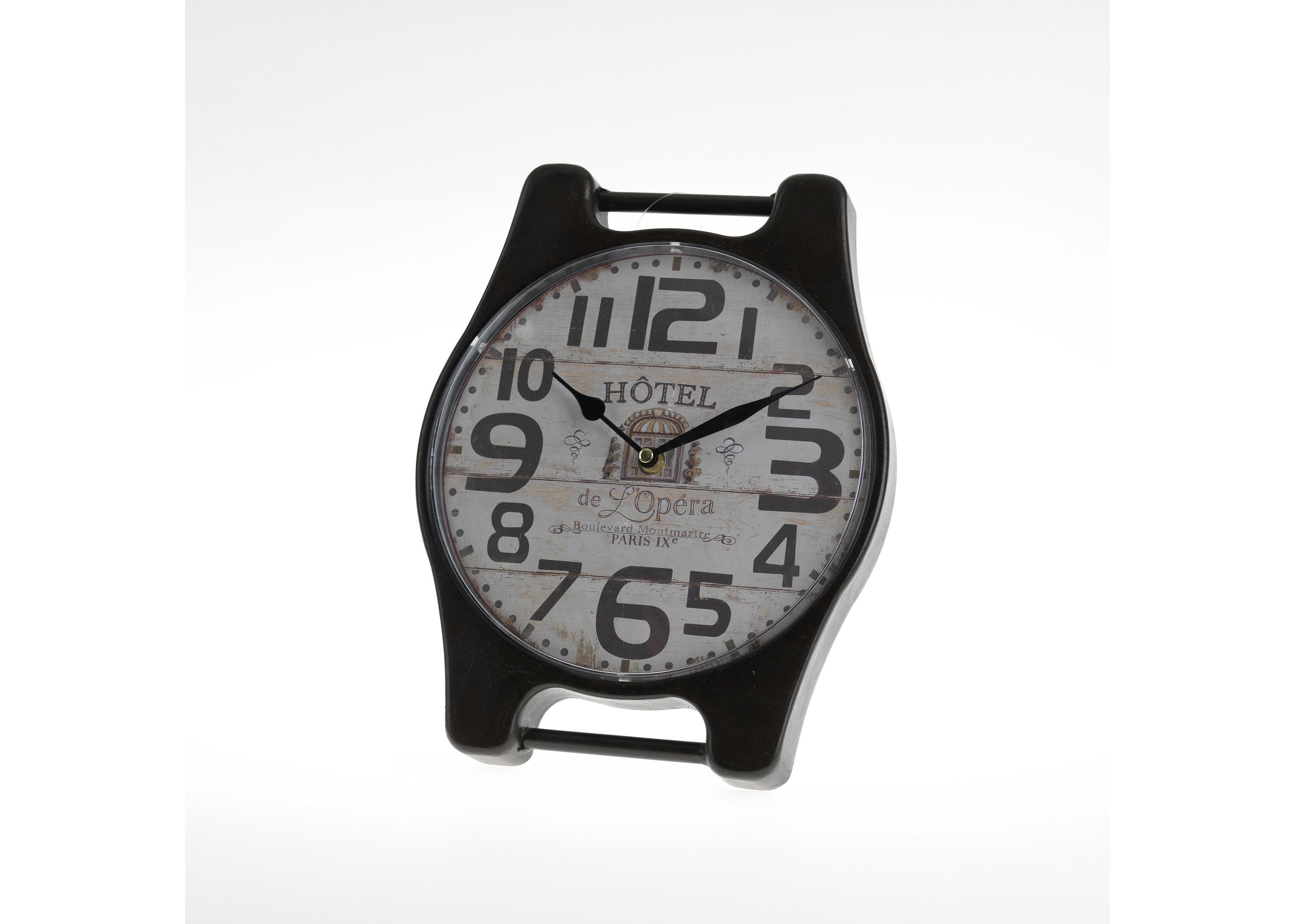 Часы настольные VancouverНастольные часы<br>Механизм: кварцевый<br><br>Material: Металл<br>Width см: 26<br>Depth см: 5<br>Height см: 30