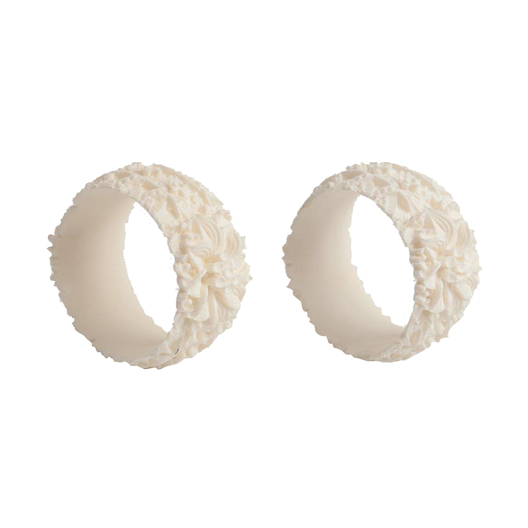 Набор колец для салфеток DonnagrecaСтоловые приборы<br>Набор из двух колец<br><br>Material: Пластик<br>Height см: 2,5<br>Diameter см: 4