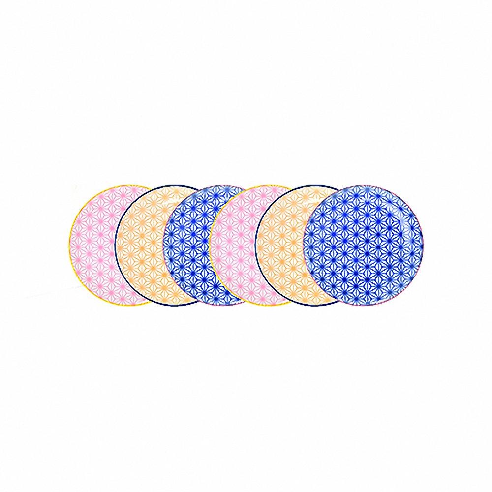 Набор тарелок (6 шт)Тарелки<br>TOKYO – ведущая компания по производству посуды из фарфора и керамики. Особый дизайн и качественное исполнение делают ее востребованной и узнаваемой во всем мире.<br><br>Material: Фарфор<br>Height см: 1<br>Diameter см: 16
