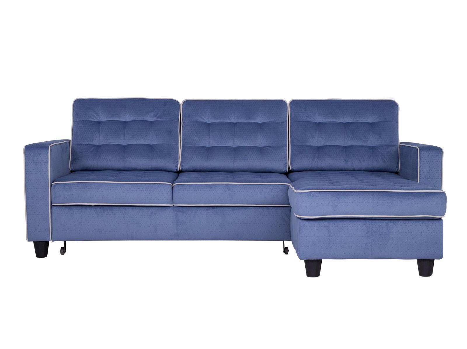 Угловой диван-кровать КамелотУгловые раскладные диваны<br>Строгий силуэт и лаконичность линий — вот отличительные особенности дивана «Камелот». <br>Дизайн подушек, выполненный с популярными сейчас утяжками, подчеркивает рельефные формы модели. Сборка требуется, все крепления входят в стоимость, оснащен механизмом трансформации&amp;lt;div&amp;gt;&amp;lt;br&amp;gt;&amp;lt;/div&amp;gt;&amp;lt;div&amp;gt;Материал обивки: микрофибра&amp;lt;br&amp;gt;Размер спального места: 196х135 см&amp;lt;/div&amp;gt;<br><br>Material: Текстиль<br>Width см: 229<br>Depth см: 156<br>Height см: 90