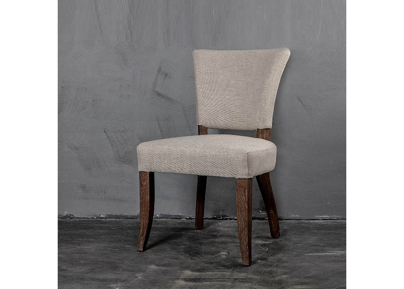 Стул МачингОбеденные стулья<br><br><br>Material: Лен<br>Width см: 54<br>Depth см: 63<br>Height см: 89