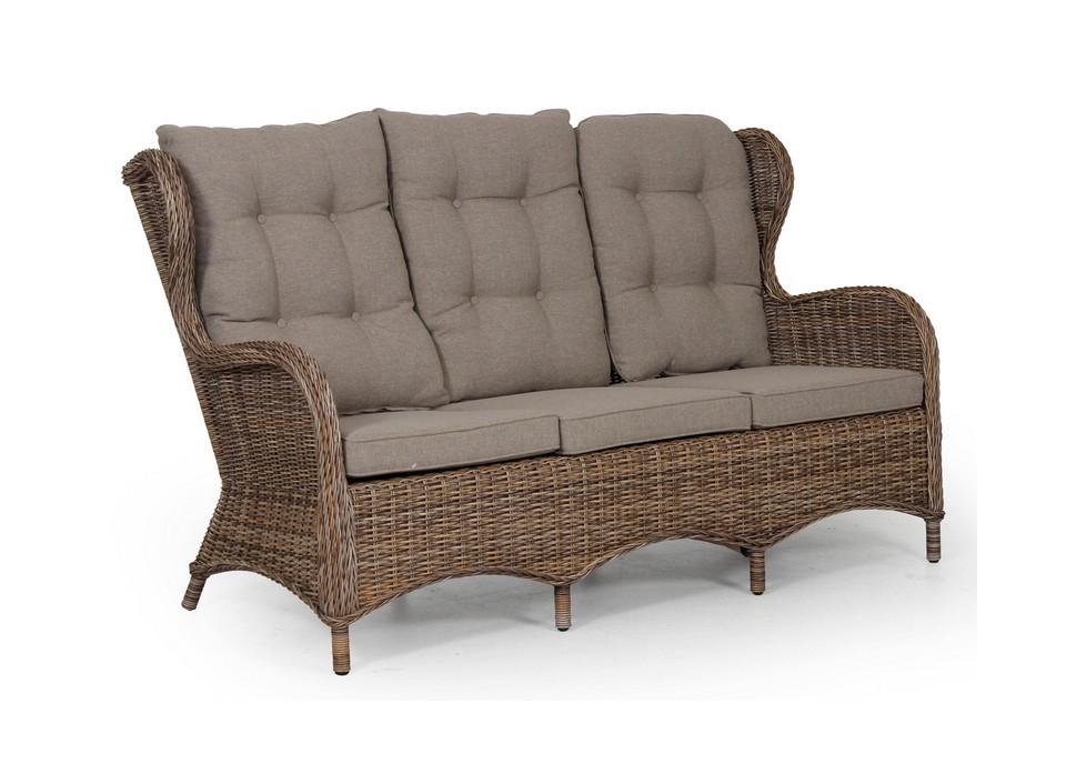 Диван EvitaДиваны и оттоманки для сада<br>Коллекция мебели Evita выполнена в классической форме, кресло и диван имеют высокую удобную спинку.&amp;amp;nbsp;&amp;lt;div&amp;gt;&amp;lt;span style=&amp;quot;line-height: 1.78571;&amp;quot;&amp;gt;Мебель из коллекции Evita изготовлена из искусственного ротанга на алюминиевом каркасе.<br>Подушка не входит в стоимость.&amp;lt;/span&amp;gt;&amp;lt;br&amp;gt;&amp;lt;/div&amp;gt;<br><br>Material: Искусственный ротанг<br>Ширина см: 172<br>Высота см: 102<br>Глубина см: 66