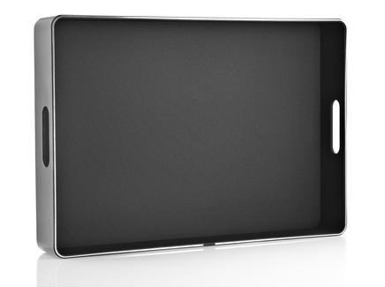 Поднос сервировочный (eva solo) черный 50x7x34 см.