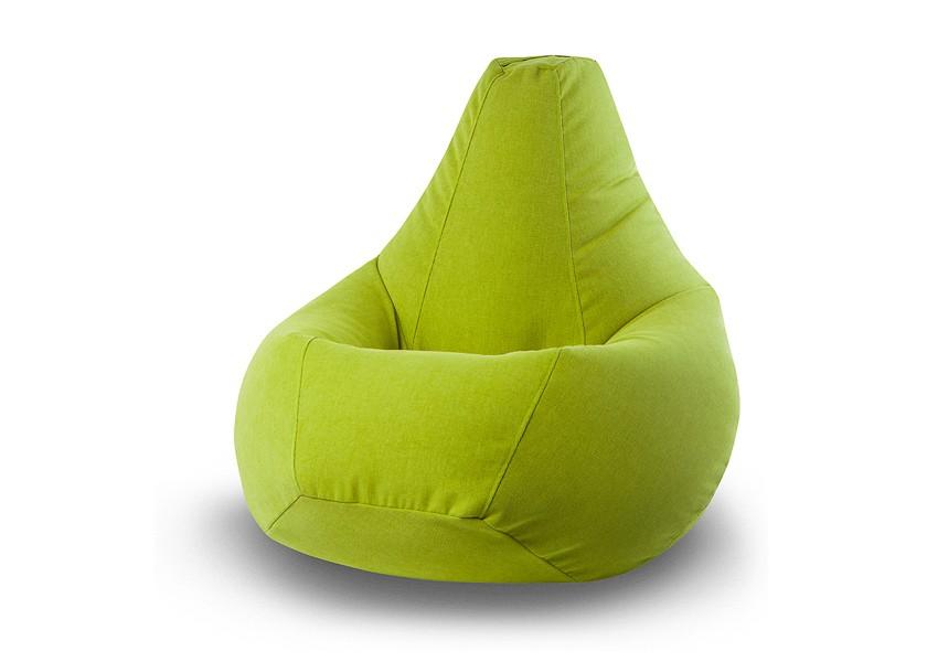Кресло-мешок Vella Green XLБесформенные пуфы<br>&amp;lt;div&amp;gt;Съемный чехол: Да (на молнии);&amp;lt;/div&amp;gt;&amp;lt;div&amp;gt;Наполнитель: пенополистирол (гранула 2 мм).&amp;lt;/div&amp;gt;<br><br>Material: Текстиль<br>Height см: 135<br>Diameter см: 90