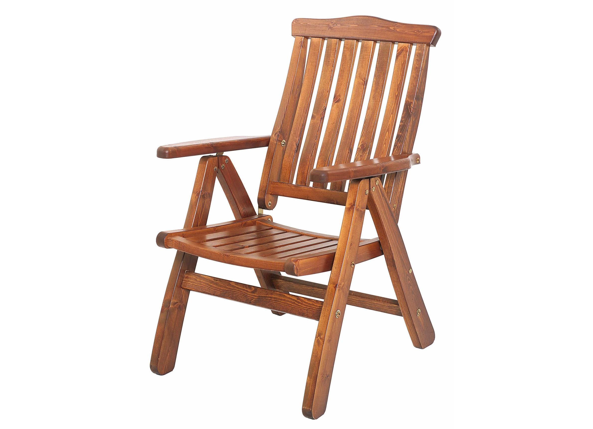 Кресло RosendalКресла для сада<br>Бестселлер фабрики KWA - кресло Rosendal. Оно выполнено из массива сосны цвета капучино. На кресле можно регулировать наклон спинки в семи положениях, а благодаря удобному складному механизму, Вы можете хранить его без ощутимых потерь свободного места в доме.&amp;amp;nbsp;<br><br>Material: Дерево<br>Ширина см: 67<br>Высота см: 104<br>Глубина см: 70