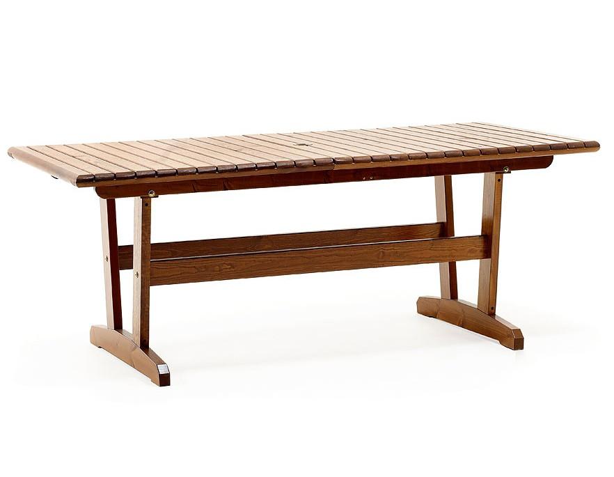 Стол VivaldiСтолы и столики для сада<br>Серия Vivaldi отличается своей округлой формой, которая придает ей эксклюзивный и торжественный вид.<br>Стол Vivaldi выполнен из массива сосны, окрашенного в цвет каппучино. Для большей вместимости Вы можете разложить центральную вставку, увеличив длину стола до 241 см, что позволит разместить за столом до десяти человек.&amp;amp;nbsp;<br><br>Material: Дерево<br>Width см: 241<br>Depth см: 90<br>Height см: 71
