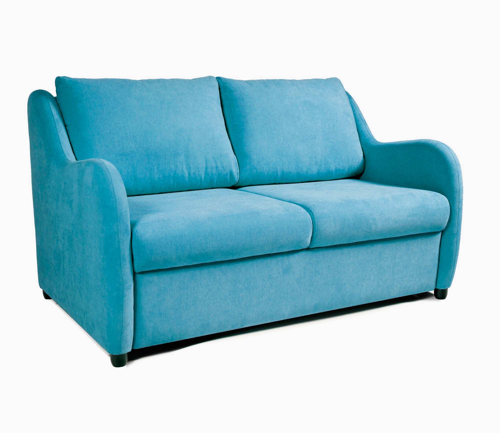 Myfurnish диван-кровать universal голубой  38514/7