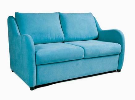 Диван-кровать universal (myfurnish) голубой 160x96x95 см.