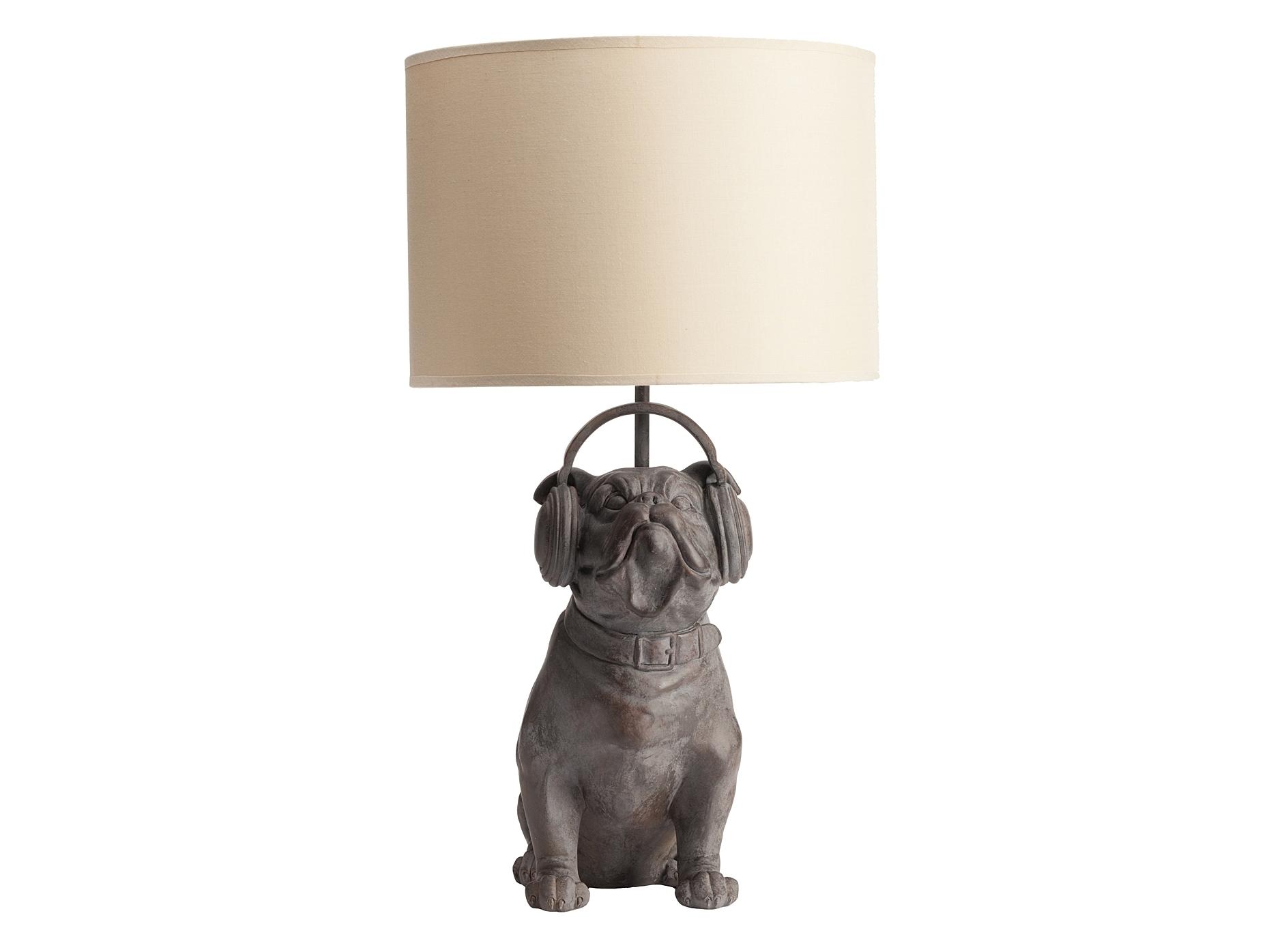 Настольная лампа Bulldog DJДекоративные лампы<br>&amp;lt;div&amp;gt;Вид цоколя: LED&amp;lt;/div&amp;gt;&amp;lt;div&amp;gt;Количество ламп: 1&amp;lt;/div&amp;gt;&amp;lt;div&amp;gt;Мощность: 60W&amp;lt;/div&amp;gt;&amp;lt;div&amp;gt;Максимальная площадь освещения: 4 &amp;amp;nbsp;кв.м.&amp;lt;/div&amp;gt;<br><br>Material: Пластик<br>Width см: 29<br>Depth см: 20<br>Height см: 49