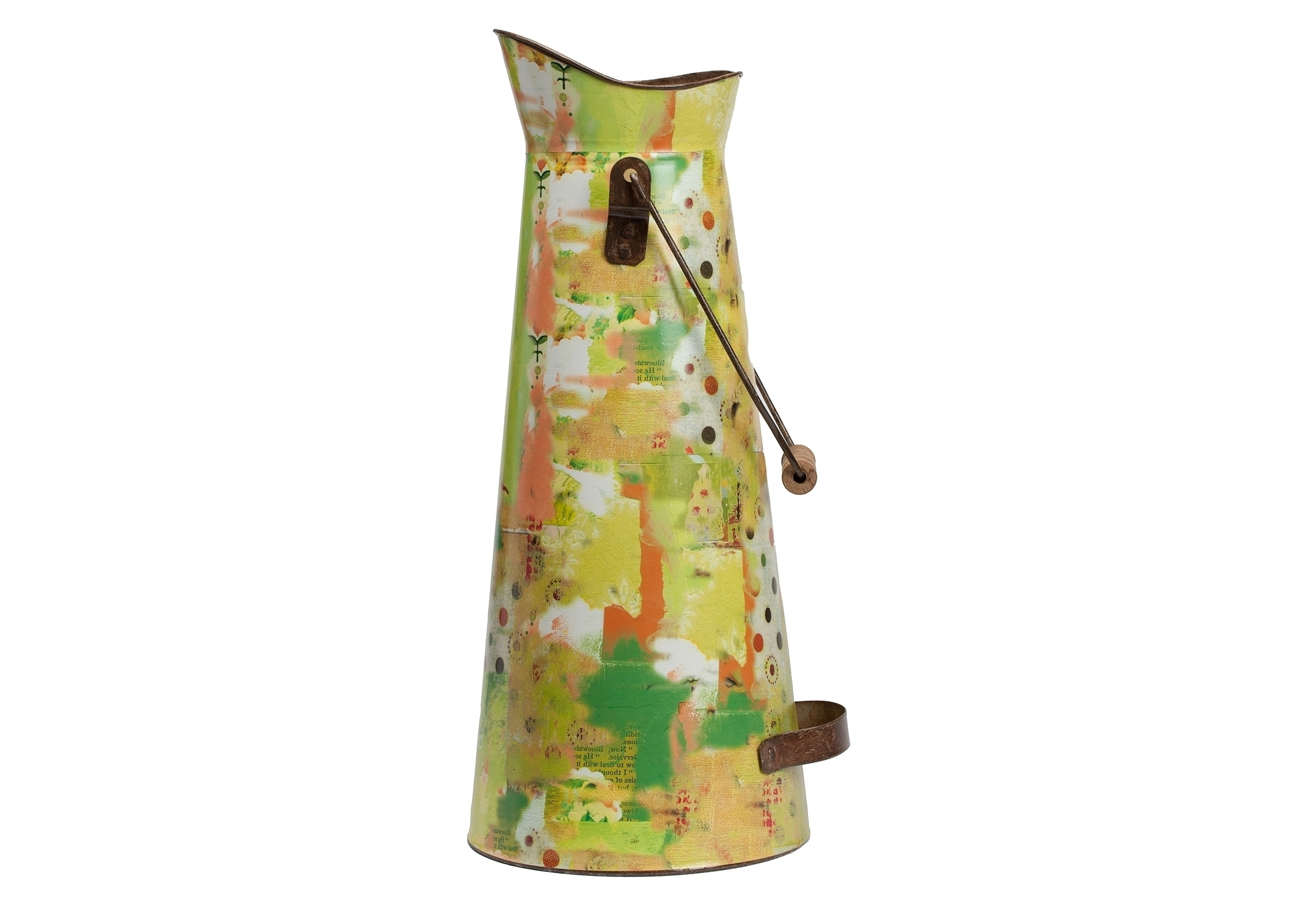 Декоративный кувшин Kelly KimКувшины и графины<br>Объем 3 литра.<br><br>Material: Металл<br>Height см: 43,5<br>Diameter см: 18,5