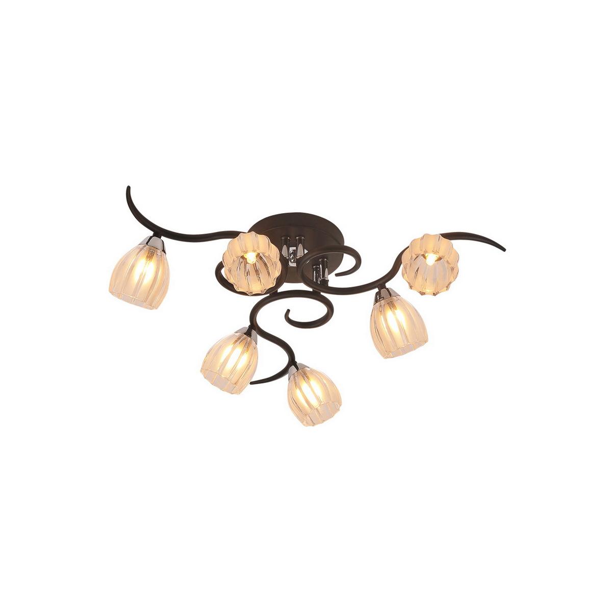 Люстра потолочная RaymondЛюстры потолочные<br>&amp;lt;div&amp;gt;Лампочки не входят в комплект люстры.<br>Люстра поставляется в разобранном виде и имеет в комплекте все необходимые для монтажа крепежные элементы.&amp;lt;/div&amp;gt;&amp;lt;div&amp;gt;&amp;lt;br&amp;gt;&amp;lt;/div&amp;gt;&amp;lt;div&amp;gt;&amp;lt;span style=&amp;quot;line-height: 24.9999px;&amp;quot;&amp;gt;Вид цоколя: G9&amp;lt;/span&amp;gt;&amp;lt;div style=&amp;quot;line-height: 24.9999px;&amp;quot;&amp;gt;Мощность ламп: 40W&amp;lt;/div&amp;gt;&amp;lt;div style=&amp;quot;line-height: 24.9999px;&amp;quot;&amp;gt;Количество ламп: 6&amp;lt;/div&amp;gt;&amp;lt;div style=&amp;quot;line-height: 24.9999px;&amp;quot;&amp;gt;&amp;lt;br&amp;gt;&amp;lt;/div&amp;gt;&amp;lt;/div&amp;gt;<br><br>Material: Металл<br>Height см: 20<br>Diameter см: 64