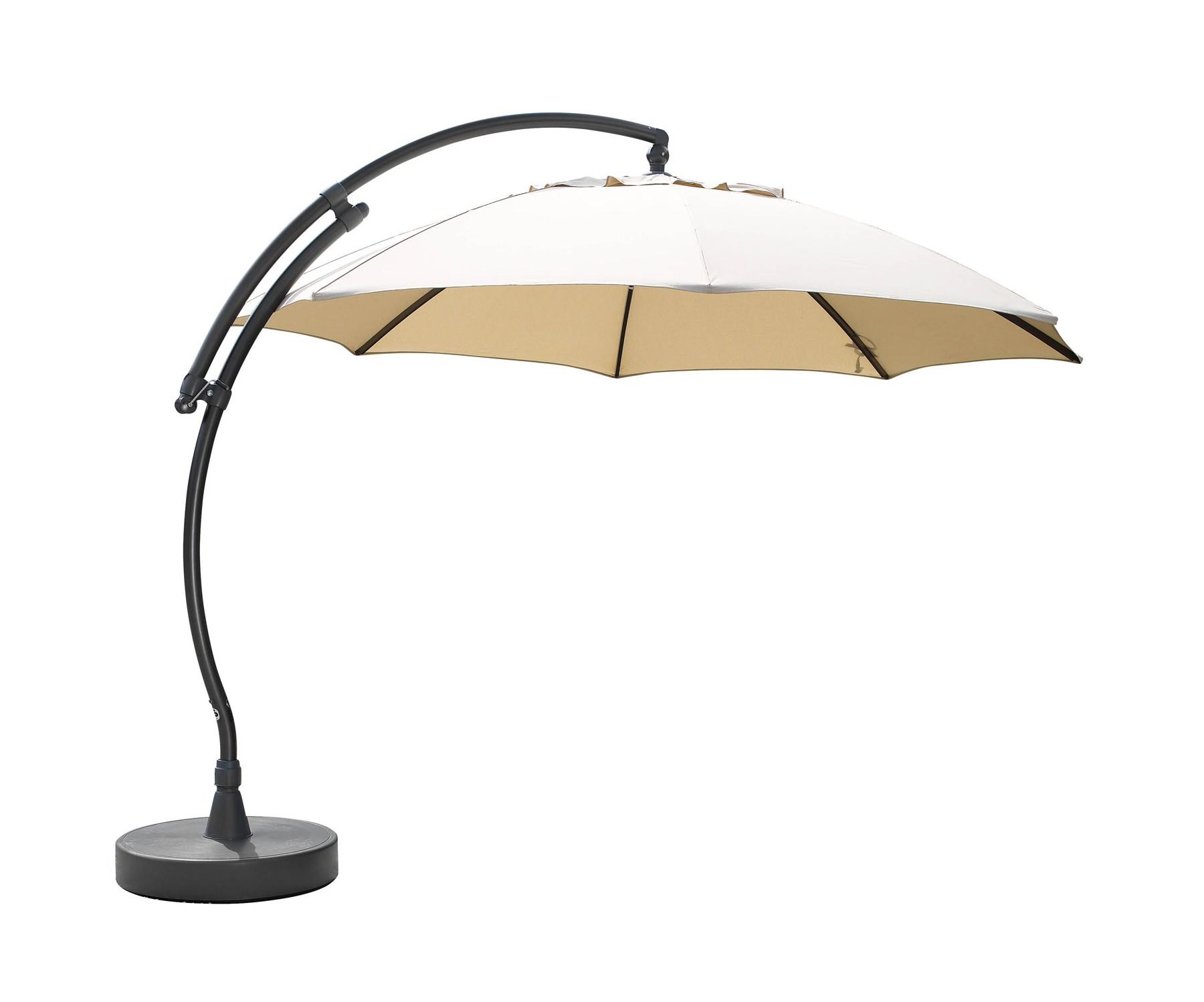 Зонт Easy SunТенты и зонты<br>Зонт Easy Sun с боковой ножкой. Купол зонта выполнен из олефина бежевого, коричневого или цвета антрацит, имеет вентиляционное отверстие. Каркас зонта изготовлен из алюминия серебристого или серого цвета.&amp;amp;nbsp;&amp;lt;div&amp;gt;&amp;lt;br&amp;gt;&amp;lt;/div&amp;gt;&amp;lt;div&amp;gt;Подставка приобретается отдельно.  Не требуется сборка.&amp;lt;/div&amp;gt;<br><br>Material: Алюминий<br>Высота см: 250