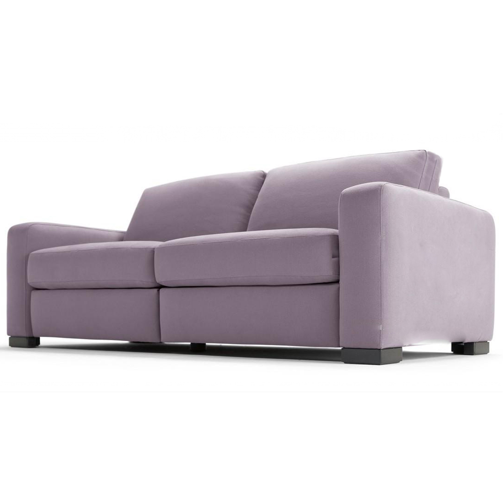 Диван-кровать AmberПрямые раскладные диваны<br>&amp;lt;div&amp;gt;Психологи утверждают, что фиолетовый цвет в интерьере оказывает успокаивающее и даже лечебное воздействие на организм. Кроме того, фиолетовый - это цвет королей. Этот нежно-лавандовый диван точно исцелит вас ото всех проблем и поднимет настроение. Лаконичный простой дизайн прекрасно подойдет практически любому интерьеру, особенно в стиле лофт. Испытайте на себе чудеса цвето-терапии даже во сне, ведь этот удобный диван трасформируется в полноценную кровать за счет механизма &amp;quot;Лотос&amp;quot;.&amp;amp;nbsp;&amp;lt;/div&amp;gt;&amp;lt;div&amp;gt;&amp;lt;br&amp;gt;&amp;lt;/div&amp;gt;&amp;lt;div&amp;gt;Размеры спального места: 200х120, 200х140, 200х160 см&amp;lt;/div&amp;gt;&amp;lt;div&amp;gt;Материал корпуса: фанера, брус&amp;lt;/div&amp;gt;&amp;lt;div&amp;gt;Материал обивки: полиэстер, 40000 циклов&amp;lt;/div&amp;gt;&amp;lt;div&amp;gt;Возможность исполнения в другом материале обивки&amp;lt;/div&amp;gt;&amp;lt;div&amp;gt;&amp;lt;br&amp;gt;&amp;lt;/div&amp;gt;&amp;lt;div&amp;gt;Возможность установить складной механизм типа 2С или &amp;quot;французская раскладушка&amp;quot;&amp;lt;/div&amp;gt;&amp;lt;div&amp;gt;Диван alfa comfort с подушками.&amp;lt;/div&amp;gt;<br><br>Material: Текстиль<br>Width см: 200<br>Depth см: 90<br>Height см: 80
