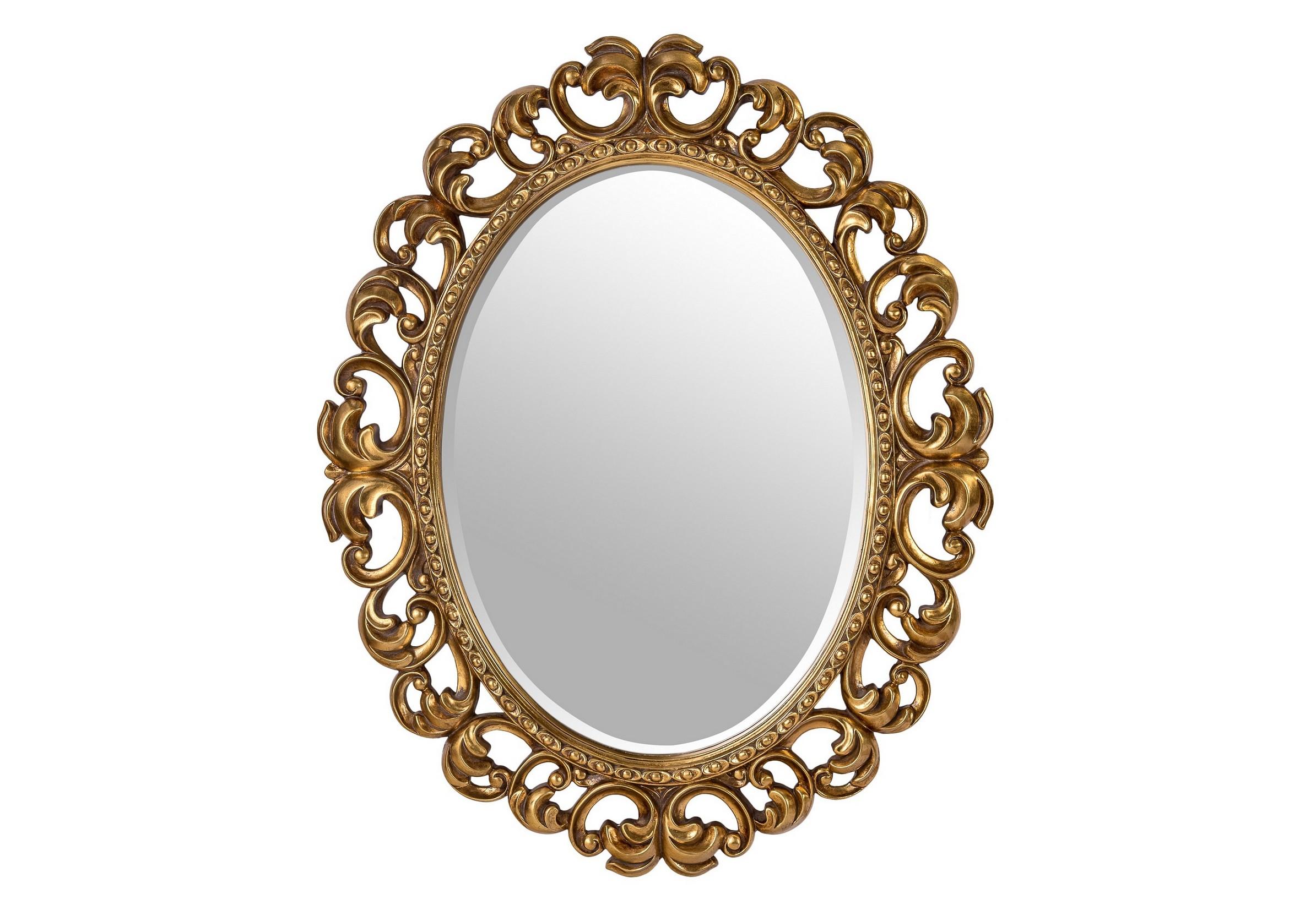 Зеркало Daisy GoldНастенные зеркала<br>Цвет: античное золото<br><br>Material: Пластик<br>Length см: None<br>Width см: 80.0<br>Depth см: None<br>Height см: 100.0<br>Diameter см: None