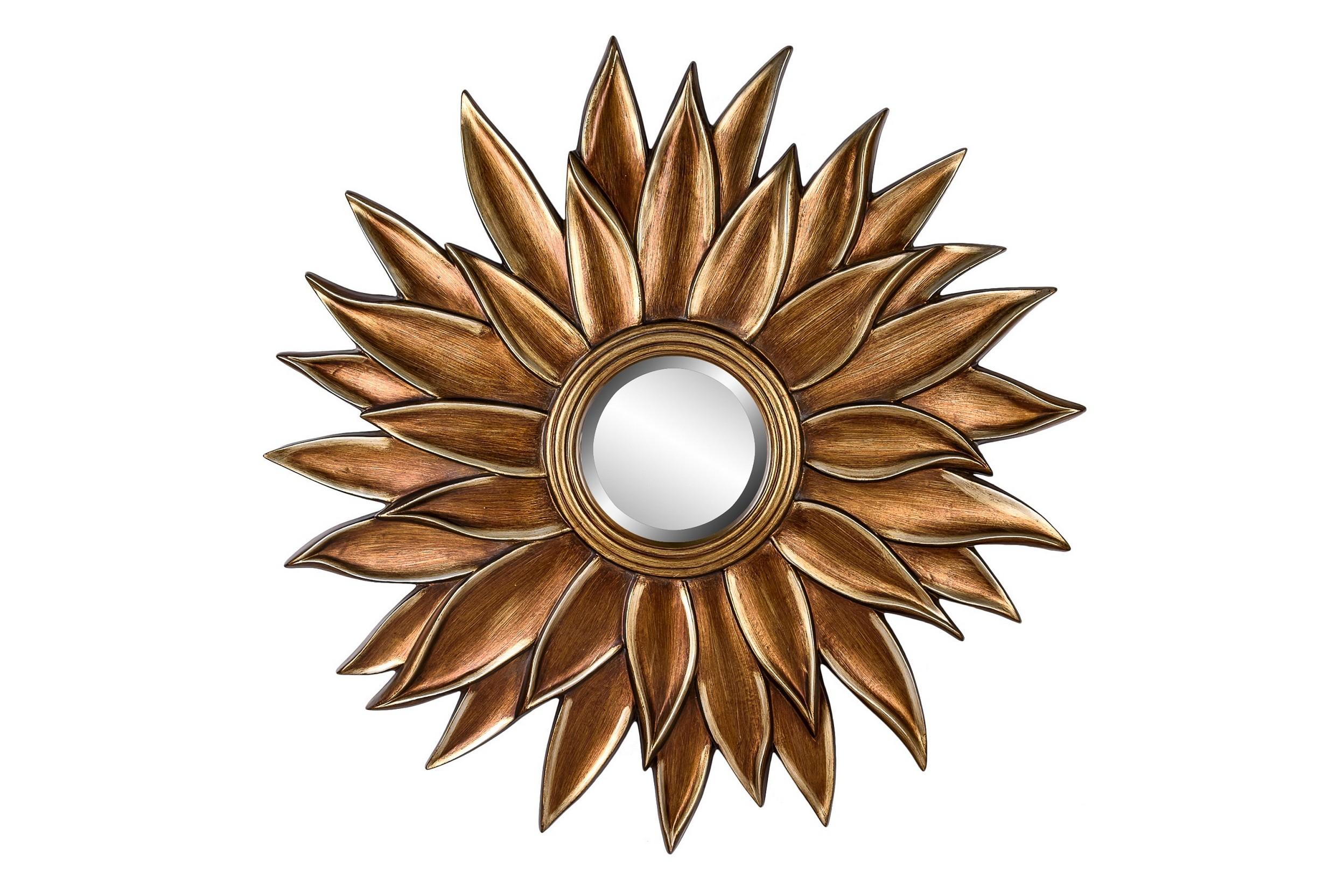 Зеркало PeonyНастенные зеркала<br>Великолепное декоративное зеркало Peony в раме бронзового цвета - настоящий арт-объект! Такое зеркало можно разместить в спальне над комодом, в гостиной над камином или консолью, в прихожей или в спальне - словом, оригинальный предмет декора украсит собой любое помещение!&amp;amp;nbsp;&amp;lt;div&amp;gt;&amp;amp;nbsp;Цвет: Бронза<br>Материал: Полиуретан&amp;lt;/div&amp;gt;<br><br>Material: Пластик<br>Depth см: 4<br>Diameter см: 102
