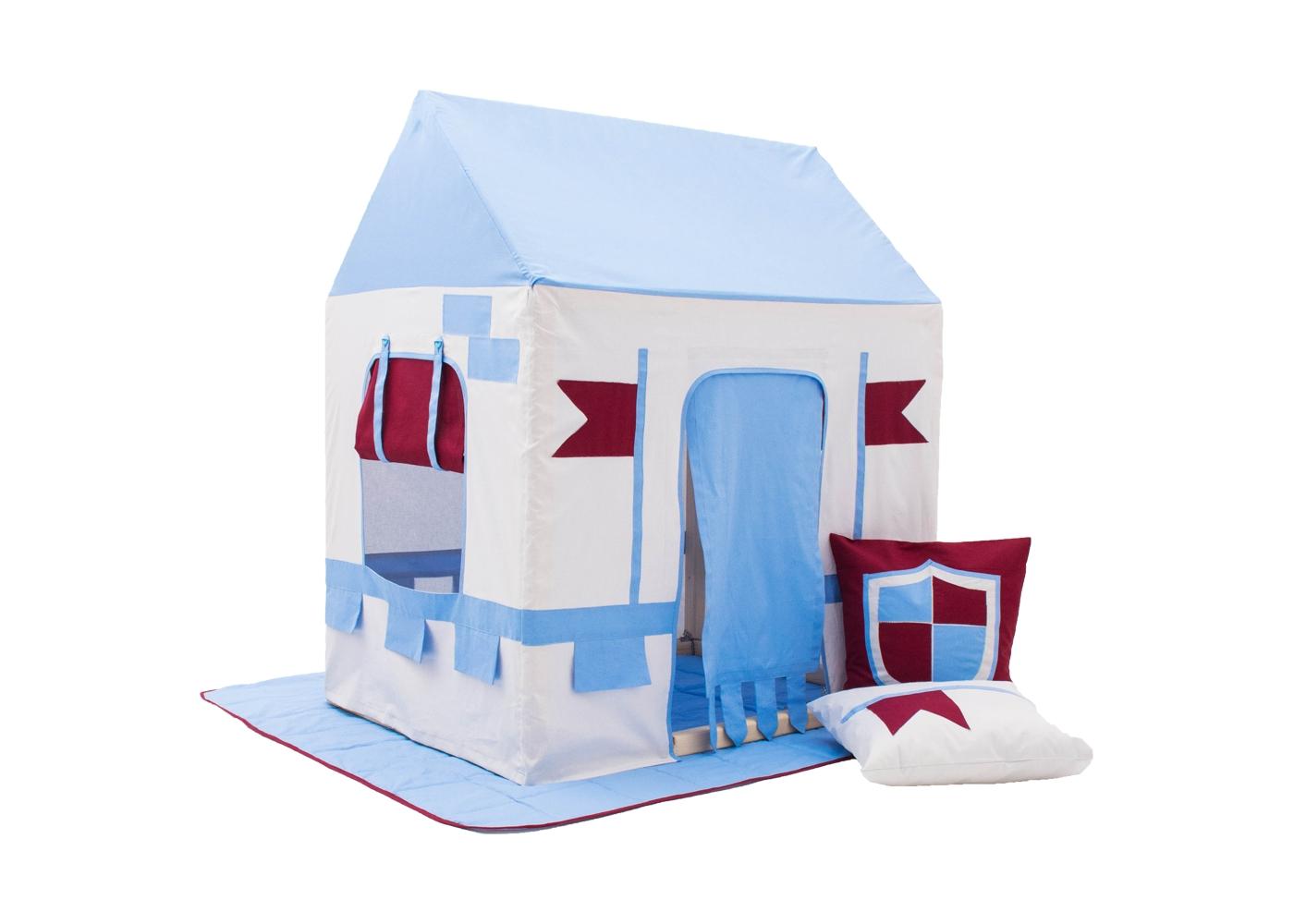 Палатка Замок рыцаряДетские домики<br><br><br>Material: Хлопок<br>Width см: 73,5<br>Depth см: 100<br>Height см: 118