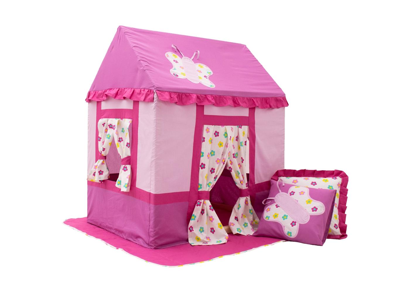 Палатка Цветочная феяДетские домики<br><br><br>Material: Хлопок<br>Width см: 73,5<br>Depth см: 100<br>Height см: 118