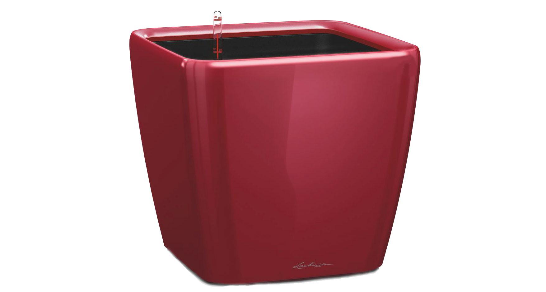 Кашпо с системой полива Квадро LSКашпо<br>Кашпо со съемным горшком.<br><br>Material: Пластик<br>Width см: 35<br>Depth см: 35<br>Height см: 33