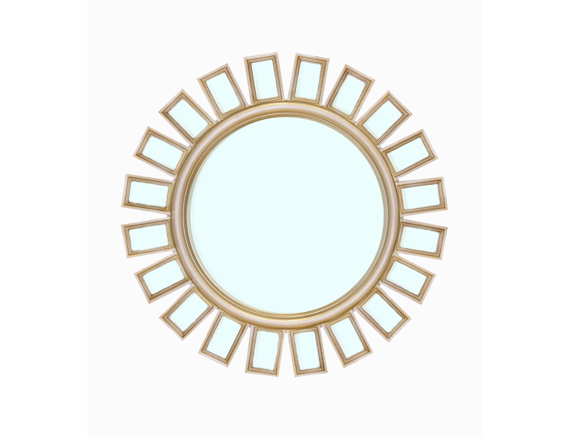 Зеркало AlvitaНастенные зеркала<br><br><br>Material: Металл<br>Depth см: 3<br>Diameter см: 84