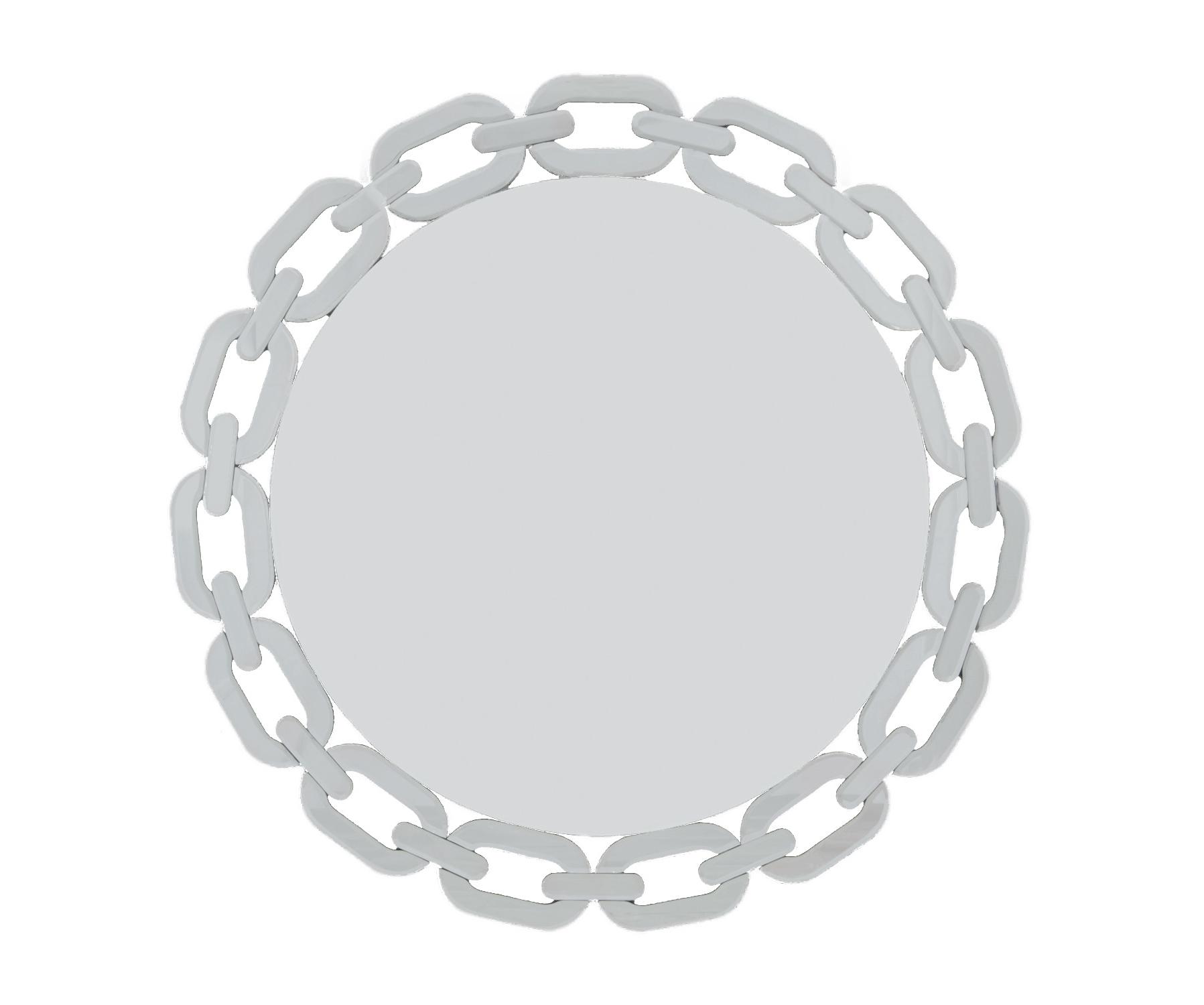 Зеркало NovaНастенные зеркала<br><br><br>Material: Металл<br>Depth см: 1,9<br>Diameter см: 90