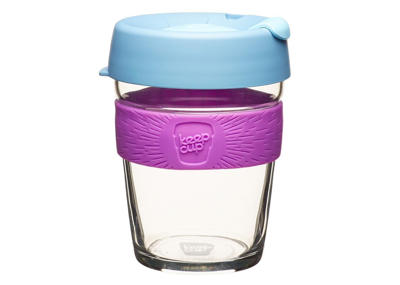Кружка Keepcup lavenderЧайные пары, чашки и кружки<br>Новая версия культовых кружек KeepCup со стенками из закаленного стекла и еще более удобной крышкой.<br>Кружка, созданная с мыслями о вас и о планете. Главная идея KeepCup – вдохновить любителей кофе отказаться от использования&amp;amp;nbsp;&amp;lt;div&amp;gt;одноразовых бумажных и пластиковых стаканов, так как их производство и утилизация наносят вред окружающей среде.&amp;amp;nbsp;&amp;lt;/div&amp;gt;&amp;lt;div&amp;gt;&amp;lt;br&amp;gt;&amp;lt;/div&amp;gt;&amp;lt;div&amp;gt;Специальная крышка с открывающимся и закрывающимся клапаном спасет от брызг, а силиконовый ободок поможет не обжечься (плюс, удобно держать кружку в руках.<br>Крышка сделана из нетоксичного пластика без содержания вредного бисфенола (BPA-free). Корпус - из закаленного стекла, устойчивого к термическому и механическому воздействию. Разработана и произведена в Австралии.&amp;lt;div&amp;gt;&amp;lt;br&amp;gt;&amp;lt;/div&amp;gt;&amp;lt;div&amp;gt;Объем 340 мл.&amp;lt;/div&amp;gt;&amp;lt;/div&amp;gt;<br><br>Material: Стекло<br>Height см: 13<br>Diameter см: 8.8