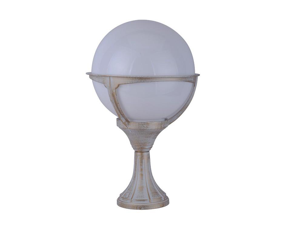 Уличный светильникУличные наземные светильники<br>Материал арматуры: алюминиевый сплав&amp;lt;div&amp;gt;Материал плафона: полиметилметакрилат&amp;lt;/div&amp;gt;&amp;lt;div&amp;gt;&amp;lt;br&amp;gt;&amp;lt;/div&amp;gt;&amp;lt;div&amp;gt;Вид цоколя: Е27&amp;lt;/div&amp;gt;&amp;lt;div&amp;gt;Мощность ламп: 100W&amp;lt;/div&amp;gt;&amp;lt;div&amp;gt;Количество ламп: 1&amp;lt;/div&amp;gt;&amp;lt;div&amp;gt;Наличие ламп: нет&amp;lt;/div&amp;gt;&amp;lt;div&amp;gt;Степень пылевлагозащиты: IP44&amp;lt;/div&amp;gt;<br><br>Material: Пластик<br>Высота см: 45