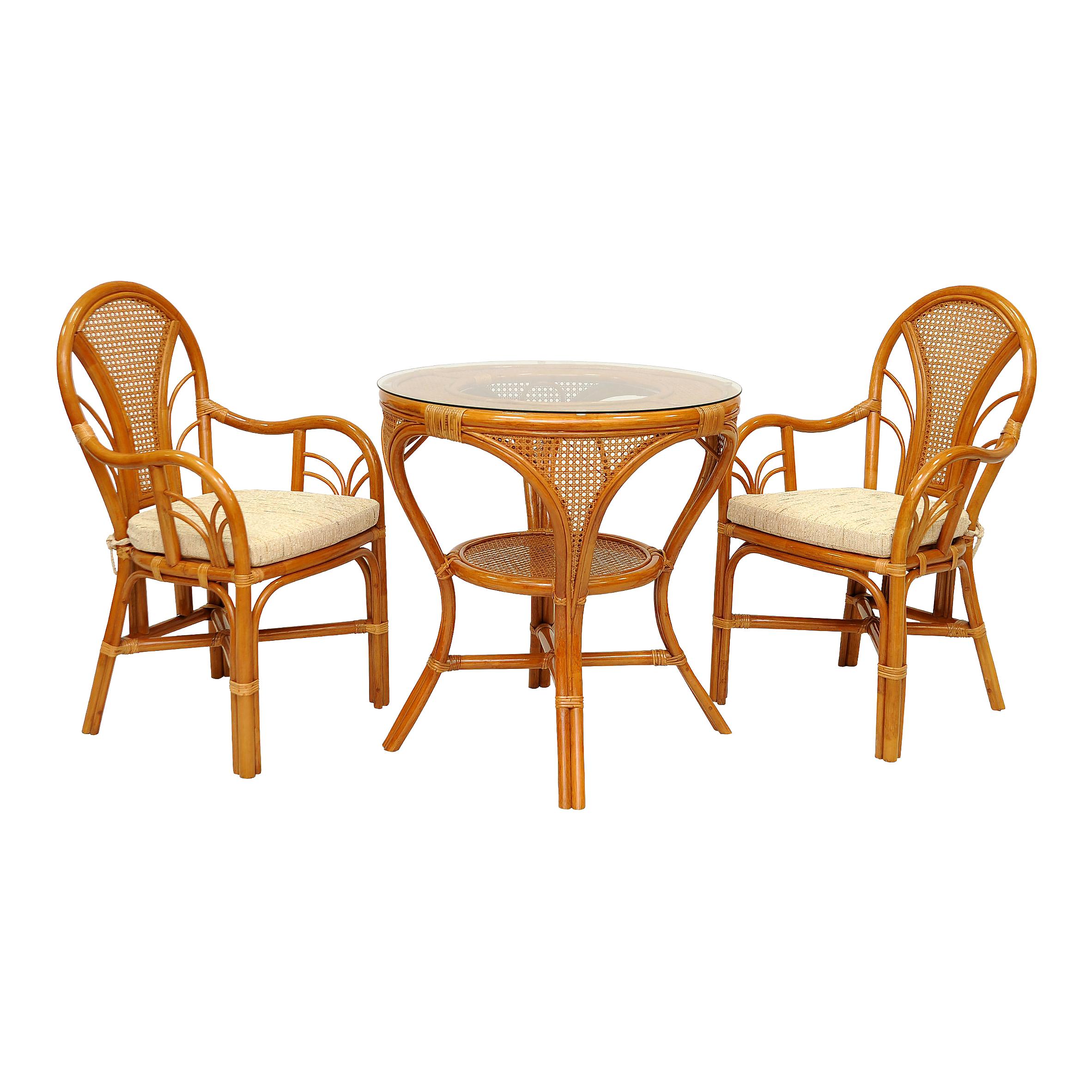 Комплект обеденный LaMokko L ККомплекты уличной мебели<br>Стулья крепкие, удобные, с мягкой подушечкой и при этом легкие и компактные. Стол Мокко - обладает безупречной эстетичностью формы.&amp;amp;nbsp;&amp;lt;span style=&amp;quot;line-height: 24.9999px;&amp;quot;&amp;gt;Этот комплект украсит интерьер любого помещения, будь то терраса загородного дома, веранда, лоджия или кухня.&amp;amp;nbsp;&amp;lt;/span&amp;gt;В комплект входят два стула, мягкие подушки (на сидение), столик со стеклом (на присосках).&amp;lt;div&amp;gt;&amp;lt;span style=&amp;quot;line-height: 1.78571;&amp;quot;&amp;gt;&amp;lt;br&amp;gt;&amp;lt;/span&amp;gt;&amp;lt;/div&amp;gt;&amp;lt;div&amp;gt;&amp;lt;span style=&amp;quot;line-height: 1.78571;&amp;quot;&amp;gt;Материал каркаса:  натуральный ротанг&amp;lt;/span&amp;gt;&amp;lt;/div&amp;gt;&amp;lt;div&amp;gt;&amp;lt;span style=&amp;quot;line-height: 1.78571;&amp;quot;&amp;gt;Цвет:  коньячный&amp;lt;/span&amp;gt;&amp;lt;/div&amp;gt;&amp;lt;div&amp;gt;&amp;lt;span style=&amp;quot;line-height: 1.78571;&amp;quot;&amp;gt;Мягкая обивка/подушка:  ткань рогожка&amp;lt;/span&amp;gt;&amp;lt;/div&amp;gt;&amp;lt;div&amp;gt;&amp;lt;span style=&amp;quot;line-height: 1.78571;&amp;quot;&amp;gt;Размер: столик со стеклом 74х74х78 см,                 кресло 96х59х55 см&amp;lt;/span&amp;gt;&amp;lt;/div&amp;gt;&amp;lt;div&amp;gt;&amp;lt;span style=&amp;quot;line-height: 1.78571;&amp;quot;&amp;gt;Выдерживаемая нагрузка, кг:  90&amp;lt;/span&amp;gt;&amp;lt;/div&amp;gt;&amp;lt;div&amp;gt;&amp;lt;br&amp;gt;&amp;lt;/div&amp;gt;<br><br>Material: Ротанг<br>Ширина см: 59<br>Высота см: 96<br>Глубина см: 55