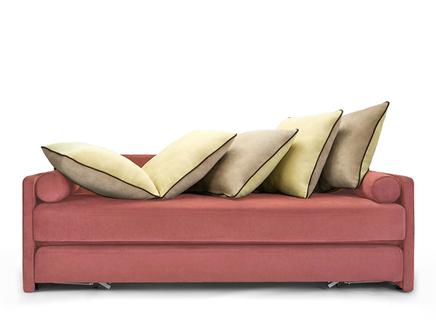 Диван-кровать daybed (myfurnish) розовый 207x75x85 см.