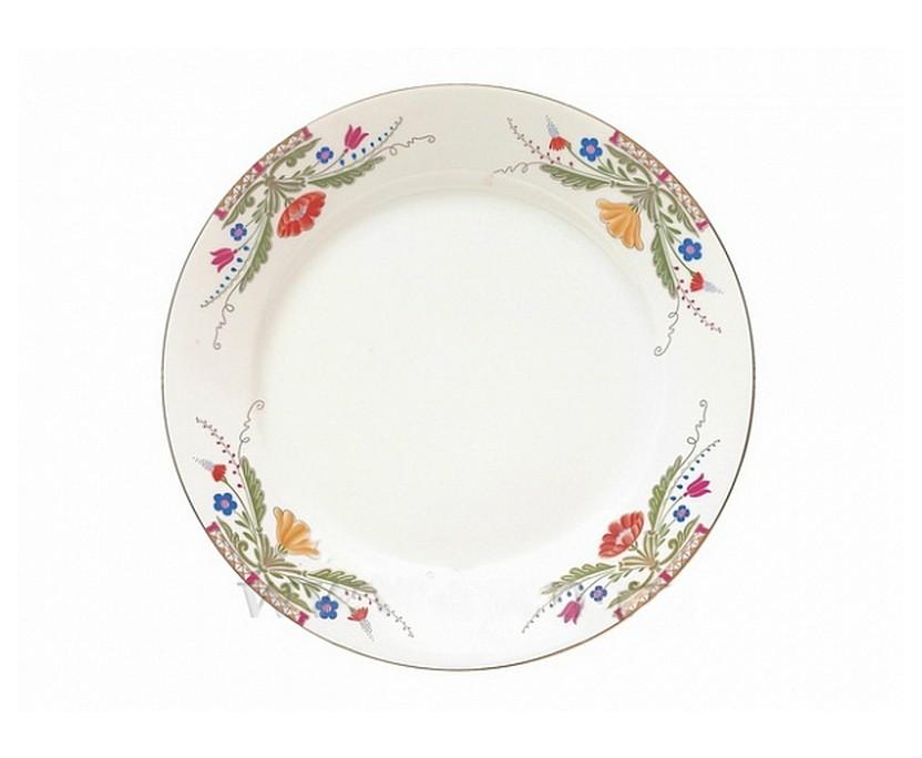 Блюдо круглое MazarinДекоративные блюда<br><br><br>Material: Фарфор<br>Height см: 1,3<br>Diameter см: 32