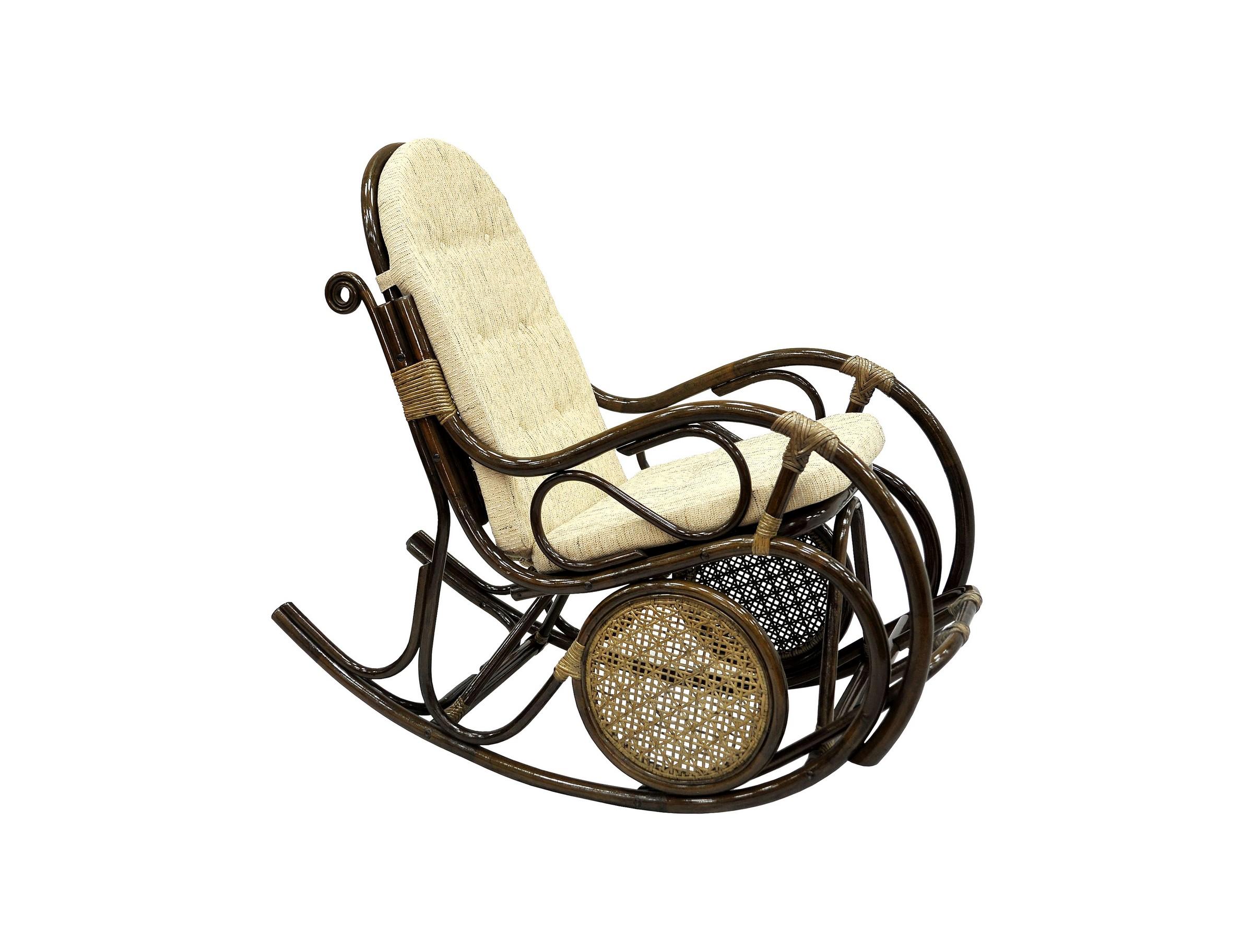 Кресло-качалкаКресла-качалки<br>Каждое кресло-качалка - уникально и неповторимо, ведь оно делается вручную.&amp;amp;nbsp;По вашему желанию может поставляться как в разобранном, так и в собранном виде. Оно без труда поместится в багажник легкового автомобиля. Сборка кресла осуществляется на болты и не требует специальных навыков.&amp;lt;div&amp;gt;&amp;lt;br&amp;gt;&amp;lt;/div&amp;gt;&amp;lt;div&amp;gt;Цвет: браун (коричневый)&amp;lt;/div&amp;gt;&amp;lt;div&amp;gt;Материал подушки: рогожка&amp;lt;/div&amp;gt;&amp;lt;div&amp;gt;Особенности:  сплошное ротанговое плетение на сиденье и спинки, с подножкой&amp;lt;/div&amp;gt;&amp;lt;div&amp;gt;Вес, кг:  16&amp;lt;/div&amp;gt;&amp;lt;div&amp;gt;Выдерживаемая нагрузка, кг:  100&amp;lt;/div&amp;gt;&amp;lt;div&amp;gt;&amp;lt;br&amp;gt;&amp;lt;/div&amp;gt;<br><br>Material: Ротанг<br>Width см: 61<br>Depth см: 137<br>Height см: 107