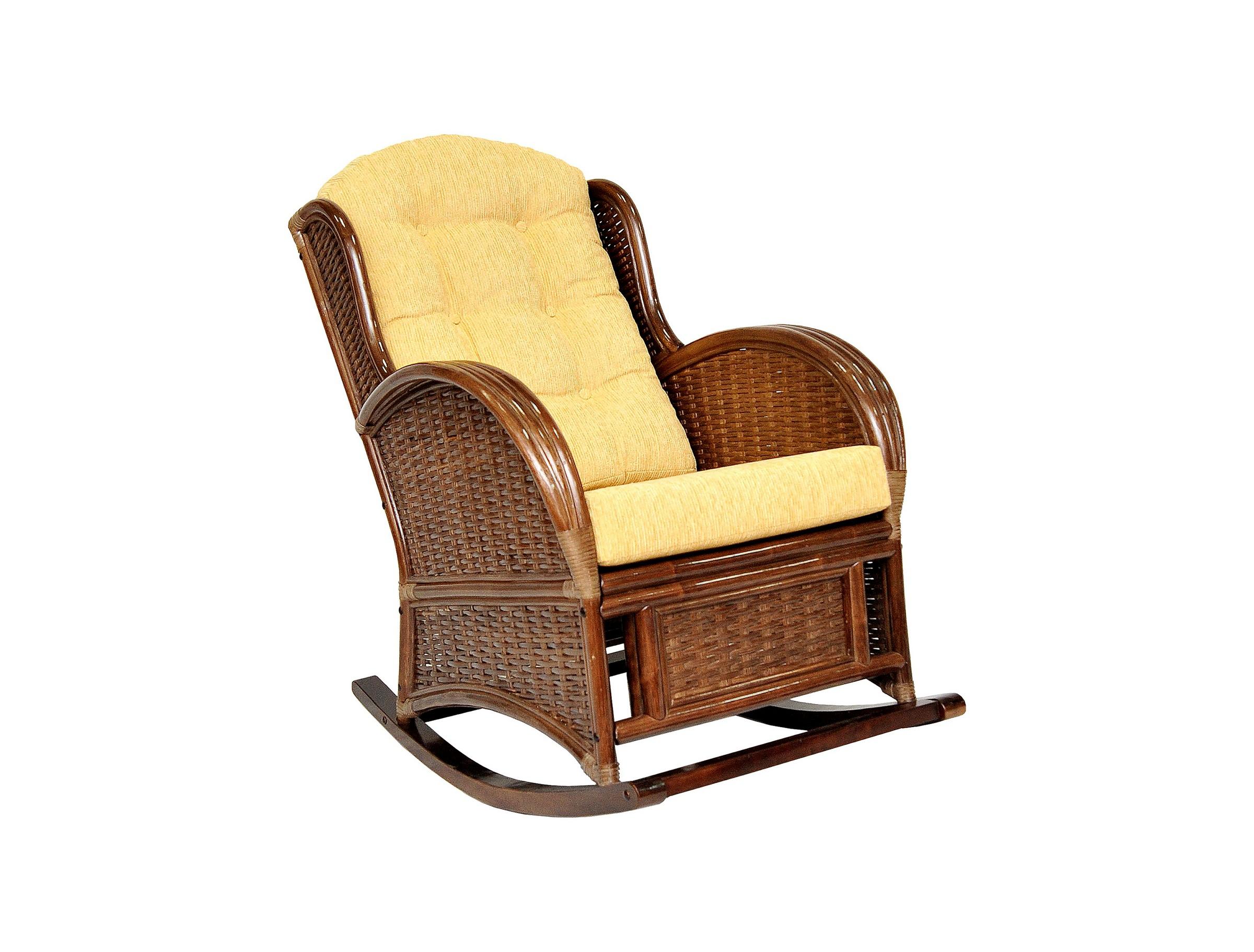 Кресло-качалка Wing-RКресла-качалки<br>Подлокотники кресла выполнены из соединенных между собой трех стволов ротанга. Боковины и спинку украшает оригинальное плетение из расщепленного ротанга.&amp;amp;nbsp; &amp;lt;div&amp;gt;&amp;lt;br&amp;gt;&amp;lt;/div&amp;gt;&amp;lt;div&amp;gt;Цвет: браун (коричневый)&amp;lt;/div&amp;gt;&amp;lt;div&amp;gt;Материал подушки: шенилл&amp;lt;/div&amp;gt;&amp;lt;div&amp;gt;Вес, кг:  19&amp;lt;/div&amp;gt;&amp;lt;div&amp;gt;Особенности:  сборно-разборная, полозья – дерево махагони&amp;lt;/div&amp;gt;&amp;lt;div&amp;gt;Выдерживаемая нагрузка, кг:  120&amp;lt;/div&amp;gt;<br><br>Material: Ротанг<br>Width см: 74<br>Depth см: 110<br>Height см: 102