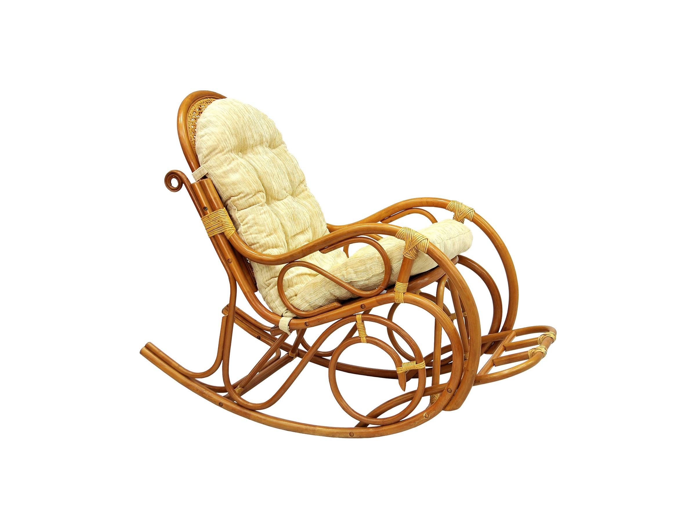Кресло-качалка с подножкойКресла-качалки<br>Модель представлена в исполнении Matte. Матовое покрытие изделия - это необычно и оригинально.  Кресло выглядит более дорогим и респектабельным. Основным отличием кресла Matte является ротанг класса А - более толстый, прочный и гладкий.&amp;lt;div&amp;gt;&amp;lt;br&amp;gt;&amp;lt;/div&amp;gt;&amp;lt;div&amp;gt;Цвет: коньячный&amp;lt;/div&amp;gt;&amp;lt;div&amp;gt;Материал подушки: шенилл&amp;lt;/div&amp;gt;&amp;lt;div&amp;gt;Размеры: 58*128*Н=99 см&amp;lt;/div&amp;gt;&amp;lt;div&amp;gt;Особенности:  сборно-разборная, с подножкой, оплетка - кожа&amp;lt;/div&amp;gt;&amp;lt;div&amp;gt;Вес, кг:  15&amp;lt;/div&amp;gt;&amp;lt;div&amp;gt;Выдерживаемая нагрузка, кг:  100&amp;lt;/div&amp;gt;<br><br>Material: Ротанг<br>Width см: 58<br>Depth см: 128<br>Height см: 99
