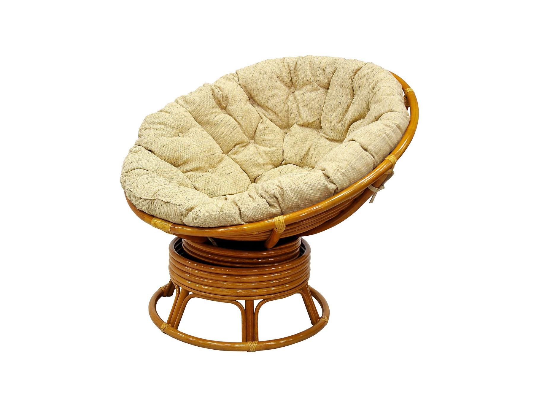Кресло механическое PapasanКресла-качалки<br>В кресло встроен специальный механизм с пружинами. Благодаря ему вы можете равномерно покачиваться и поворачиваться не вставая с кресла. Кресло Папасан выдерживает большой вес, оставаясь при этом легким и прочным. Кресло Папасан идеально подходит при кормлении ребенка.&amp;amp;nbsp;&amp;lt;div&amp;gt;&amp;lt;br&amp;gt;&amp;lt;/div&amp;gt;&amp;lt;div&amp;gt;Цвет:  коньячный&amp;lt;/div&amp;gt;&amp;lt;div&amp;gt;Материал подушки: рогожка /  шенилл&amp;lt;/div&amp;gt;&amp;lt;div&amp;gt;Вес, кг:  18&amp;lt;/div&amp;gt;&amp;lt;div&amp;gt;Особенности: сборно-разборное, качается и вращается на 360 градусов&amp;lt;/div&amp;gt;&amp;lt;div&amp;gt;Выдерживаемая нагрузка, кг:  120&amp;lt;/div&amp;gt;<br><br>Material: Ротанг<br>Width см: 115<br>Depth см: 101<br>Height см: 95
