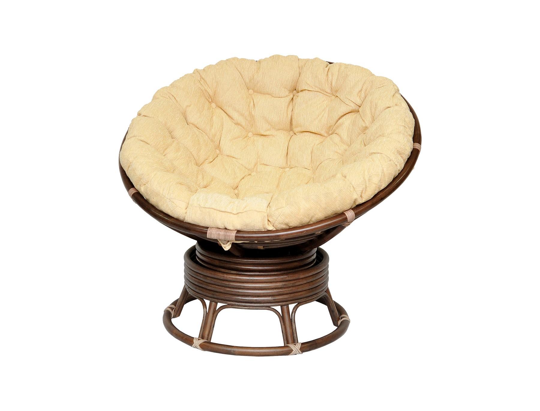 Кресло механическое Papasan MatteКресла для сада<br>В кресло встроен специальный механизм с пружинами. Благодаря ему вы можете равномерно покачиваться и поворачиваться не вставая с кресла. Кресло Папасан выдерживает большой вес, оставаясь при этом легким и прочным. Кресло Папасан идеально подходит при кормлении ребенка.&amp;amp;nbsp;&amp;lt;div&amp;gt;&amp;lt;br&amp;gt;&amp;lt;/div&amp;gt;&amp;lt;div&amp;gt;Цвет: коричневый, матовый&amp;lt;/div&amp;gt;&amp;lt;div&amp;gt;Материал подушки: шенилл&amp;lt;/div&amp;gt;&amp;lt;div&amp;gt;Вес, кг:  18&amp;lt;/div&amp;gt;&amp;lt;div&amp;gt;Особенности: сборно-разборное, качается и вращается на 360 градусов, оплетка – кожа, матовое покрытие&amp;lt;/div&amp;gt;&amp;lt;div&amp;gt;Выдерживаемая нагрузка, кг:  120&amp;lt;/div&amp;gt;<br><br>Material: Ротанг<br>Ширина см: 115<br>Высота см: 95<br>Глубина см: 101