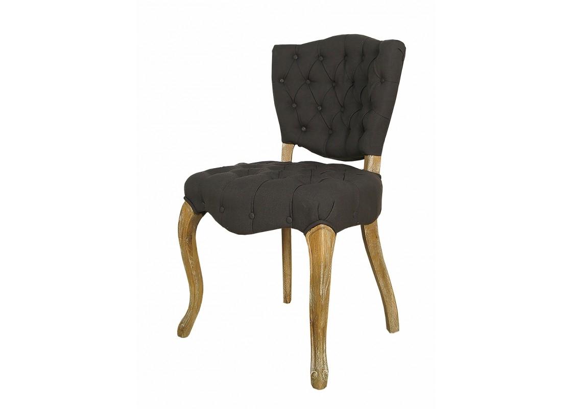 СтулОбеденные стулья<br>Материал обивки: лен.<br><br>Material: Дуб<br>Width см: 51<br>Depth см: 55<br>Height см: 87