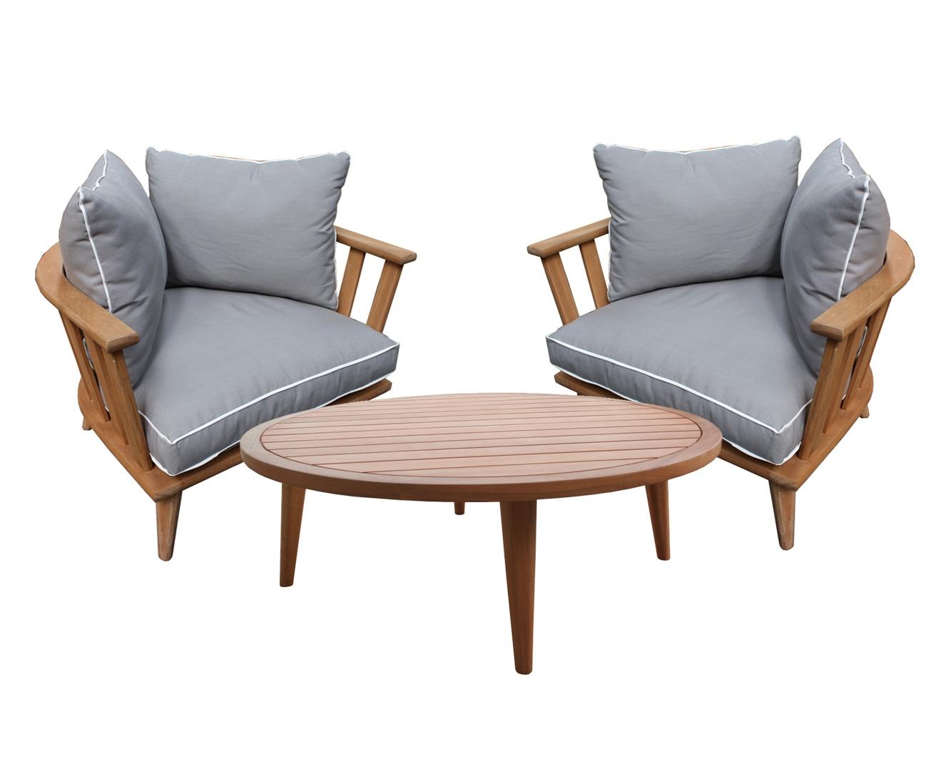 Комплект BarcelonaКомплекты уличной мебели<br>Barcelona состоит из двух невероятно удобных кресел с мягкими подушками и круглого стола. Комплект изготовлен из акации, окрашенной в цвет &amp;quot;тик&amp;quot;.&amp;amp;nbsp;&amp;lt;div&amp;gt;&amp;lt;br&amp;gt;&amp;lt;/div&amp;gt;&amp;lt;div&amp;gt;Размеры: Кресла:<br>Длина: 95 см; Ширина: 76 см; Высота: 60 см;&amp;amp;nbsp;&amp;lt;/div&amp;gt;&amp;lt;div&amp;gt;&amp;lt;br&amp;gt;&amp;lt;/div&amp;gt;<br><br>Material: Дерево<br>Height см: 35<br>Diameter см: 100