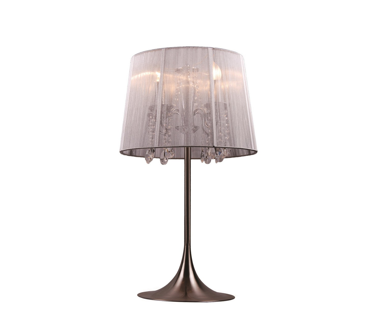 Настольная лампа Sutera tableДекоративные лампы<br>Настольная лампа ручной работы из металла, шелка и хрусталя поразит гостей и доставит Вам массу эстетического удовольствия. Достойный вариант как для классического, так и для современного интерьера.&amp;lt;div&amp;gt;&amp;lt;br&amp;gt;&amp;lt;/div&amp;gt;&amp;lt;div&amp;gt;Вид цоколя: Е14&amp;lt;/div&amp;gt;&amp;lt;div&amp;gt;Мощность лампы: 25W&amp;lt;/div&amp;gt;&amp;lt;div&amp;gt;Количество ламп: 1&amp;lt;br&amp;gt;&amp;lt;span&amp;gt;Наличие ламп в комплекте: нет&amp;lt;/span&amp;gt;&amp;lt;br&amp;gt;&amp;lt;/div&amp;gt;<br><br>Material: Металл<br>Height см: 64<br>Diameter см: 36