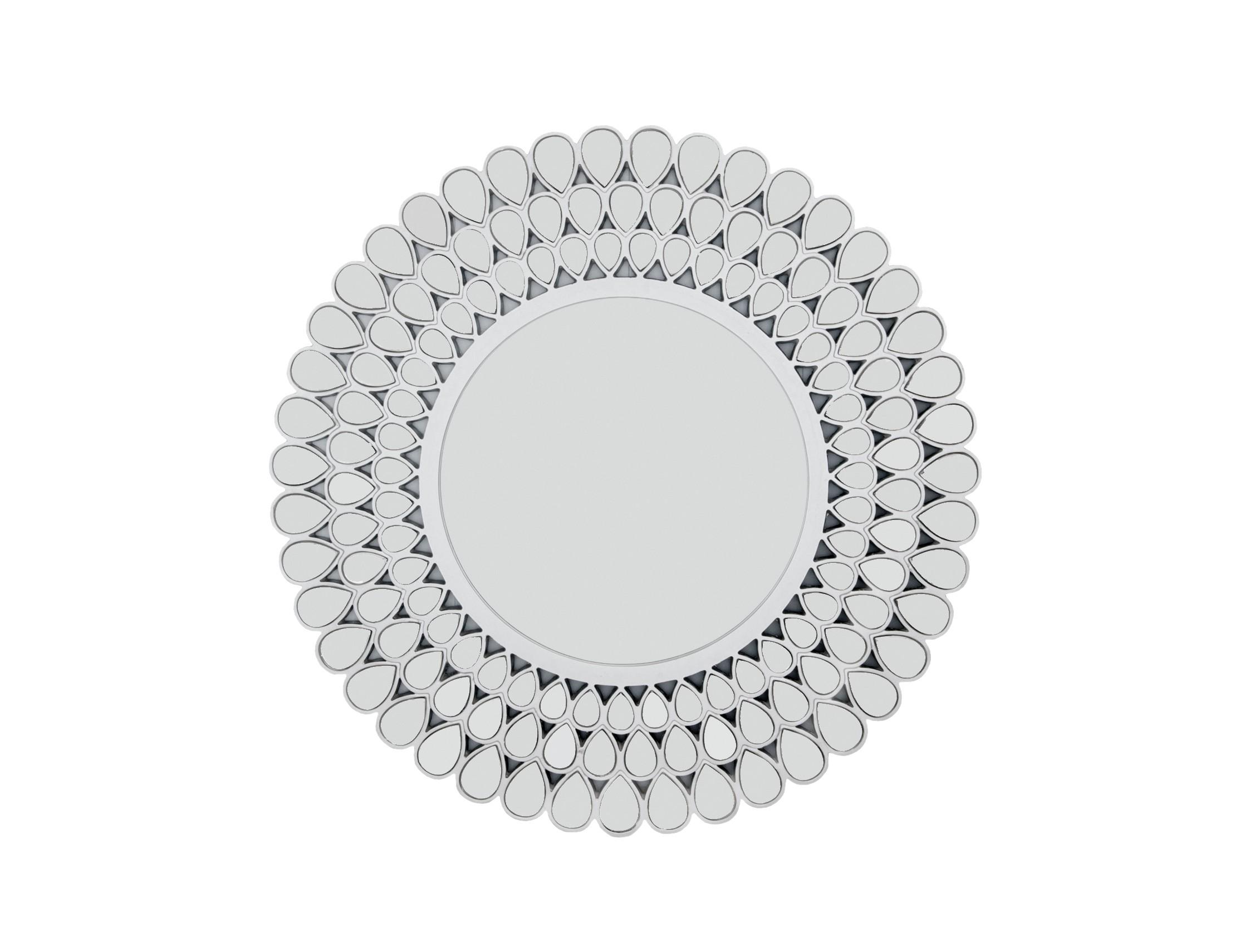 Настенное зеркало AlmontНастенные зеркала<br>Материалы: МДФ, полирезин, стекло<br><br>Material: МДФ<br>Depth см: 2,5<br>Diameter см: 100