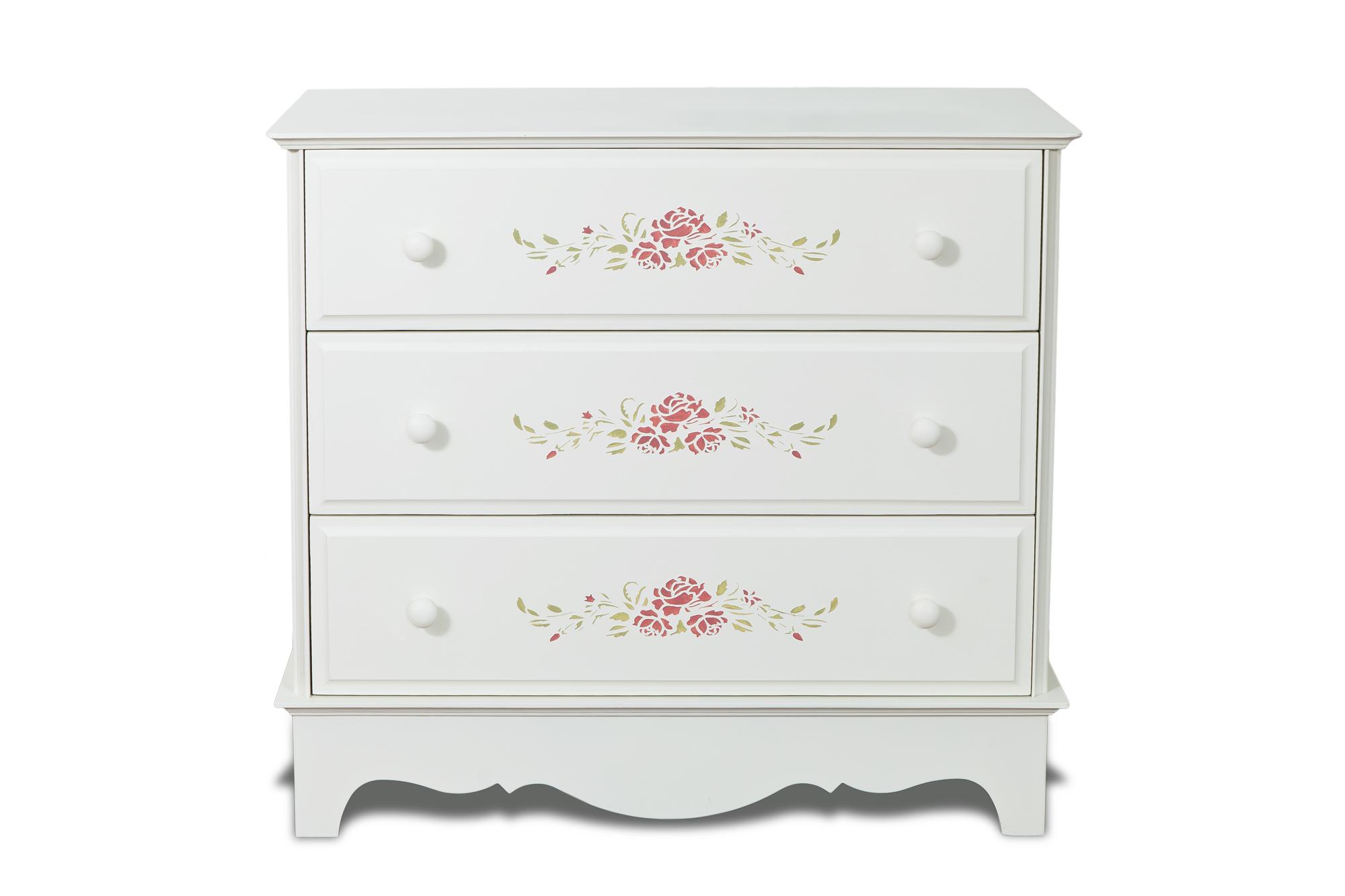 Комод Belle Fleur Color?Бельевые комоды<br>Отделка: Belle Fleur Color? - орнамент из роз.&amp;amp;nbsp;<br><br>Material: Береза<br>Width см: 92<br>Depth см: 42,5<br>Height см: 84