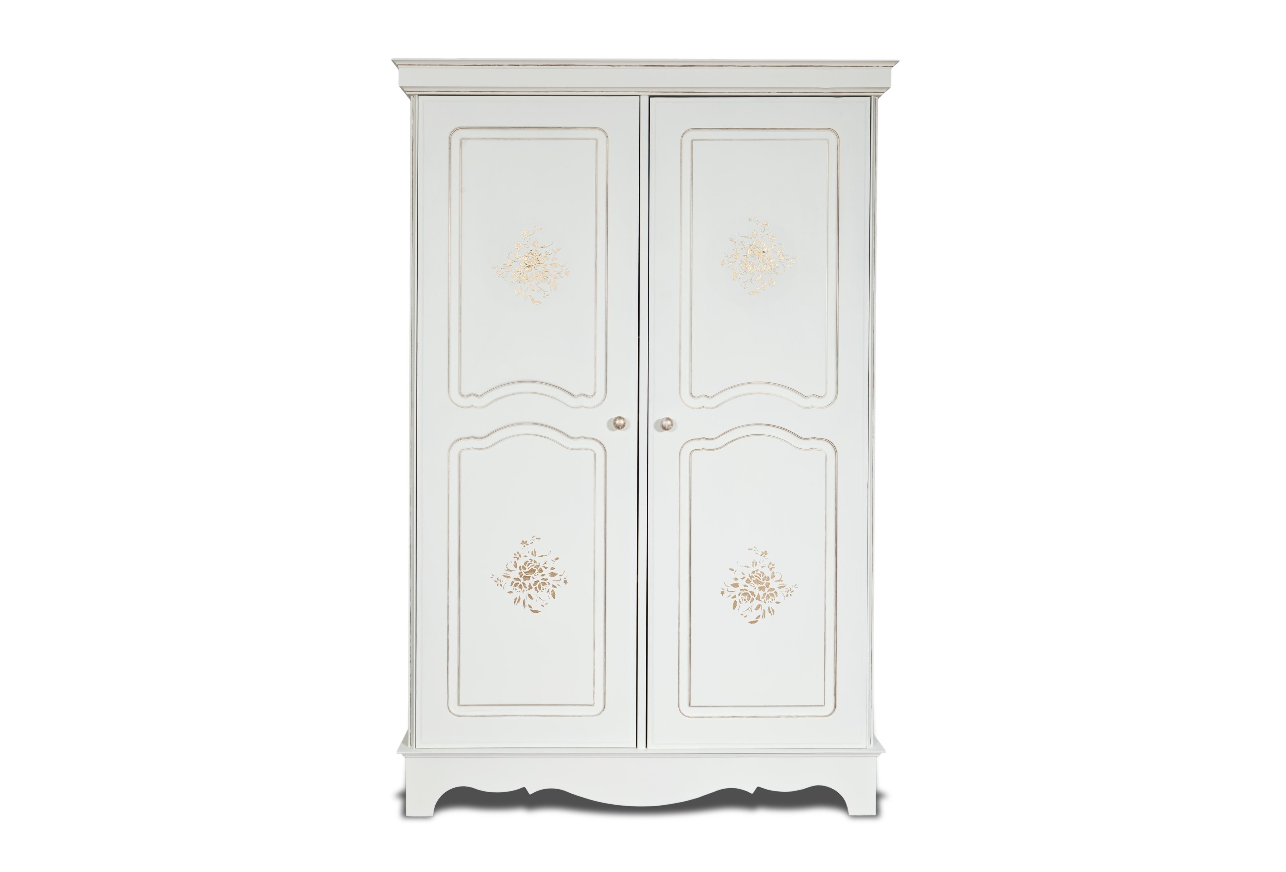 Шкаф Belle Fleur PatineПлатяные шкафы<br>Отделка: Belle Fleur Patine - золотая патина.&amp;amp;nbsp;<br><br>Material: Береза<br>Width см: 128<br>Depth см: 59,5<br>Height см: 201