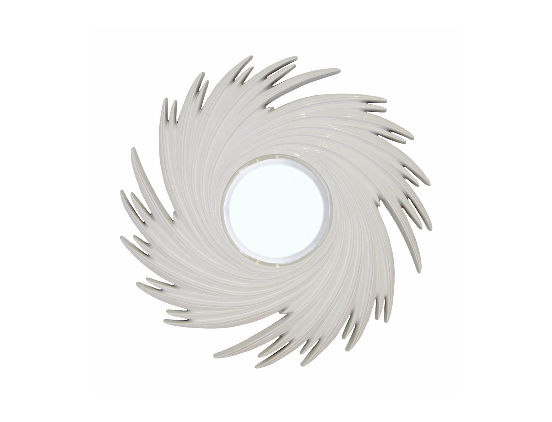 Зеркало TornadoНастенные зеркала<br>Материалы: МДФ, полирезин, стекло<br><br>Material: МДФ<br>Width см: 95<br>Depth см: 4,4<br>Height см: 95