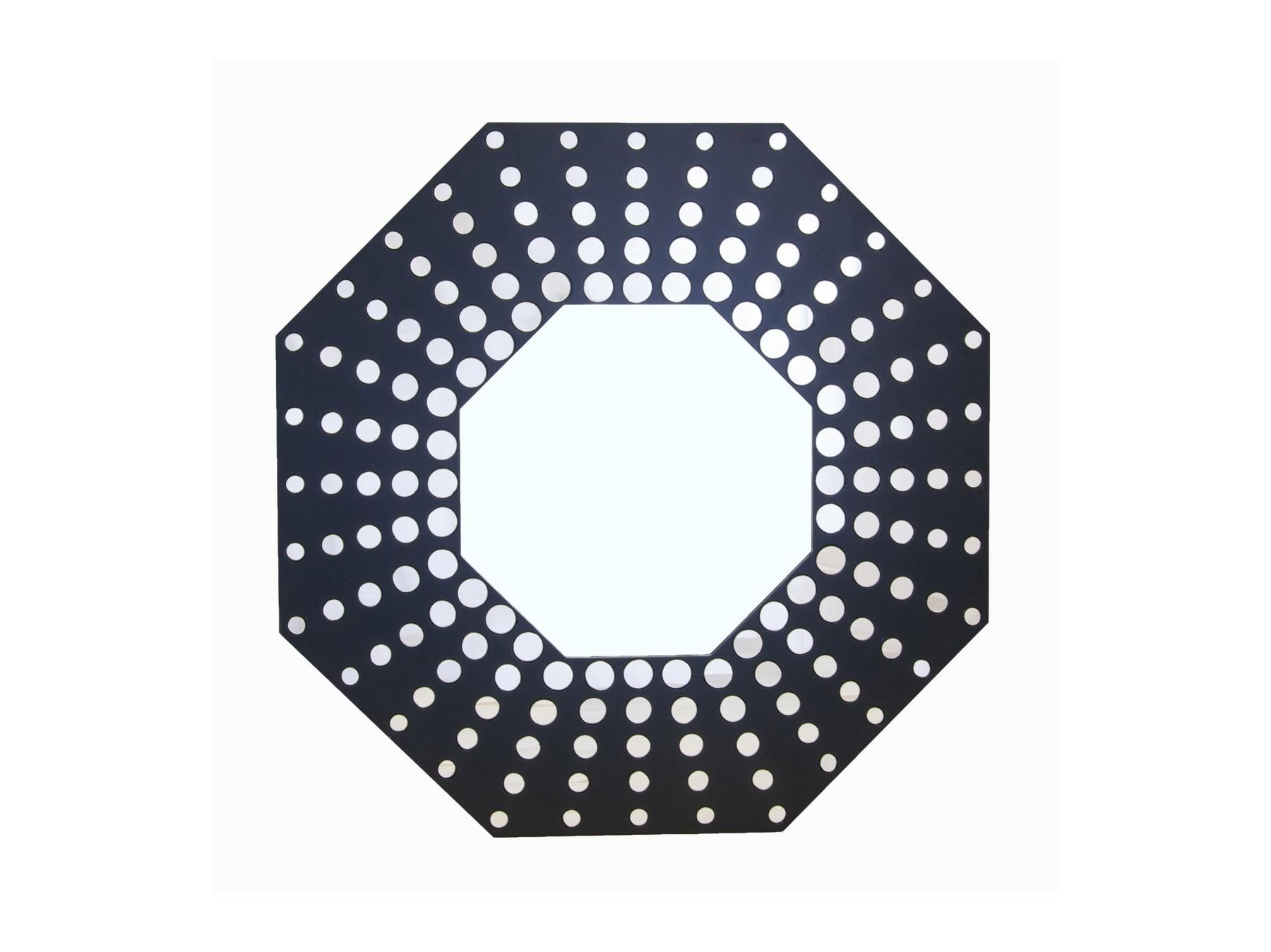 Зеркало CorbisНастенные зеркала<br>Материалы: МДФ, стекло<br><br>Material: МДФ<br>Ширина см: 90<br>Высота см: 90<br>Глубина см: 4