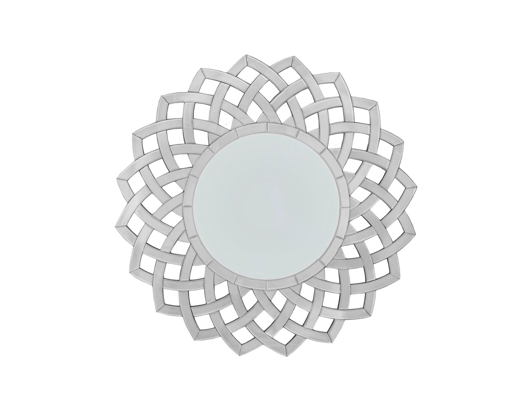 Зеркало TivonaНастенные зеркала<br>Материалы: МДФ, стекло<br><br>Material: МДФ<br>Ширина см: 89<br>Высота см: 89<br>Глубина см: 1