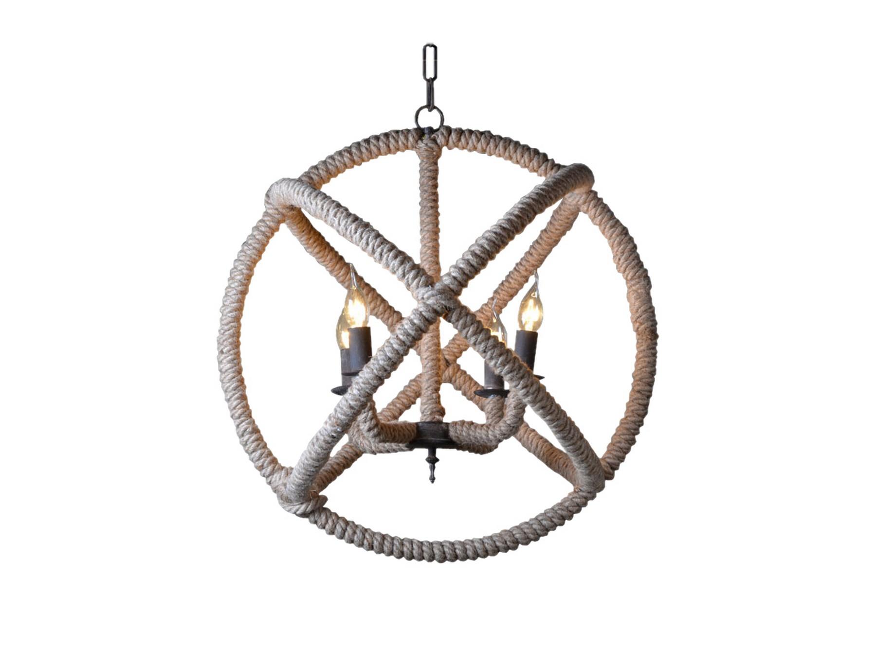 Подвесная люстра LamelaЛюстры подвесные<br>Такая люстра станет неординарным и смелым решением для вашего интерьера. Люстра на металлическом основании, декорированная джутовой веревкой. Она отлично подойдет для интерьеров в современном стиле.&amp;amp;nbsp;&amp;lt;div&amp;gt;&amp;lt;br&amp;gt;&amp;lt;/div&amp;gt;&amp;lt;div&amp;gt;&amp;lt;div&amp;gt;Вид цоколя: Е14&amp;lt;/div&amp;gt;&amp;lt;div&amp;gt;Мощность лампы: 25W&amp;lt;/div&amp;gt;&amp;lt;div&amp;gt;Количество ламп: 4&amp;lt;/div&amp;gt;&amp;lt;/div&amp;gt;&amp;lt;div&amp;gt;Наличие ламп: нет&amp;lt;/div&amp;gt;<br><br>Material: Металл<br>Height см: 55<br>Diameter см: 55